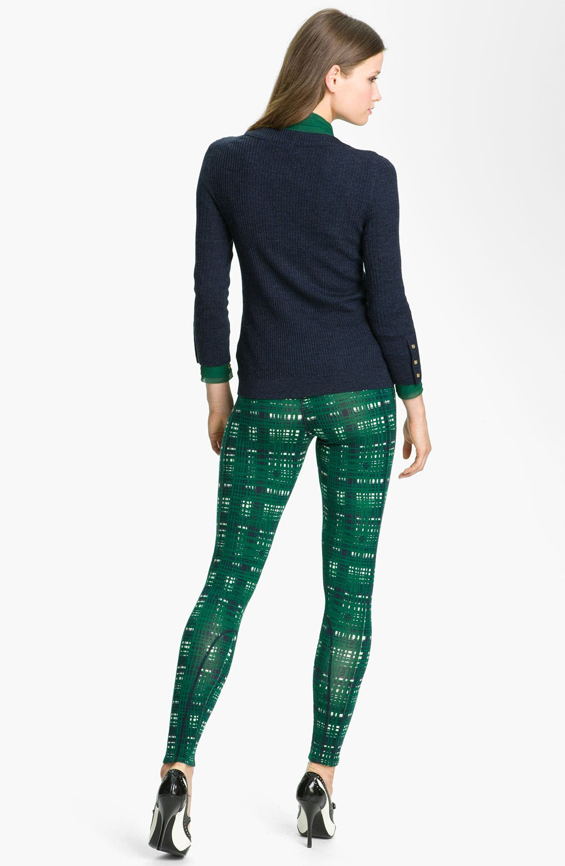 Alternate Image 4  - Tory Burch 'Rayna' Merino Wool Sweater