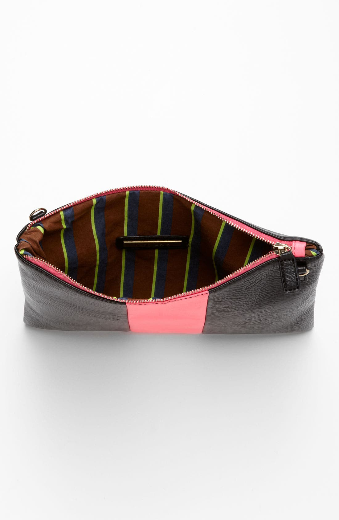 Alternate Image 3  - Street Level Colorblock Convertible Clutch