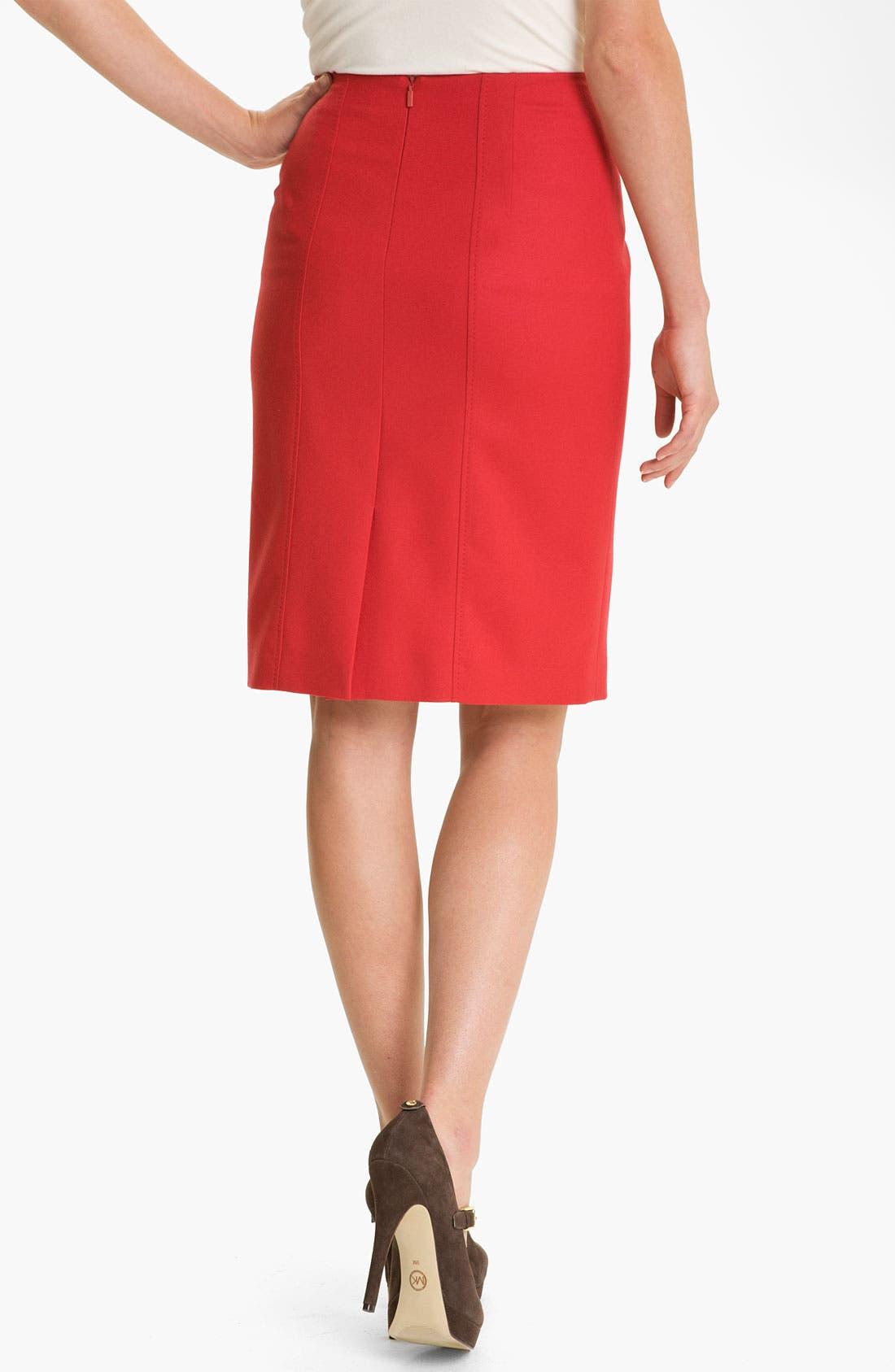 Alternate Image 2  - BOSS Black 'Vilisa' Skirt