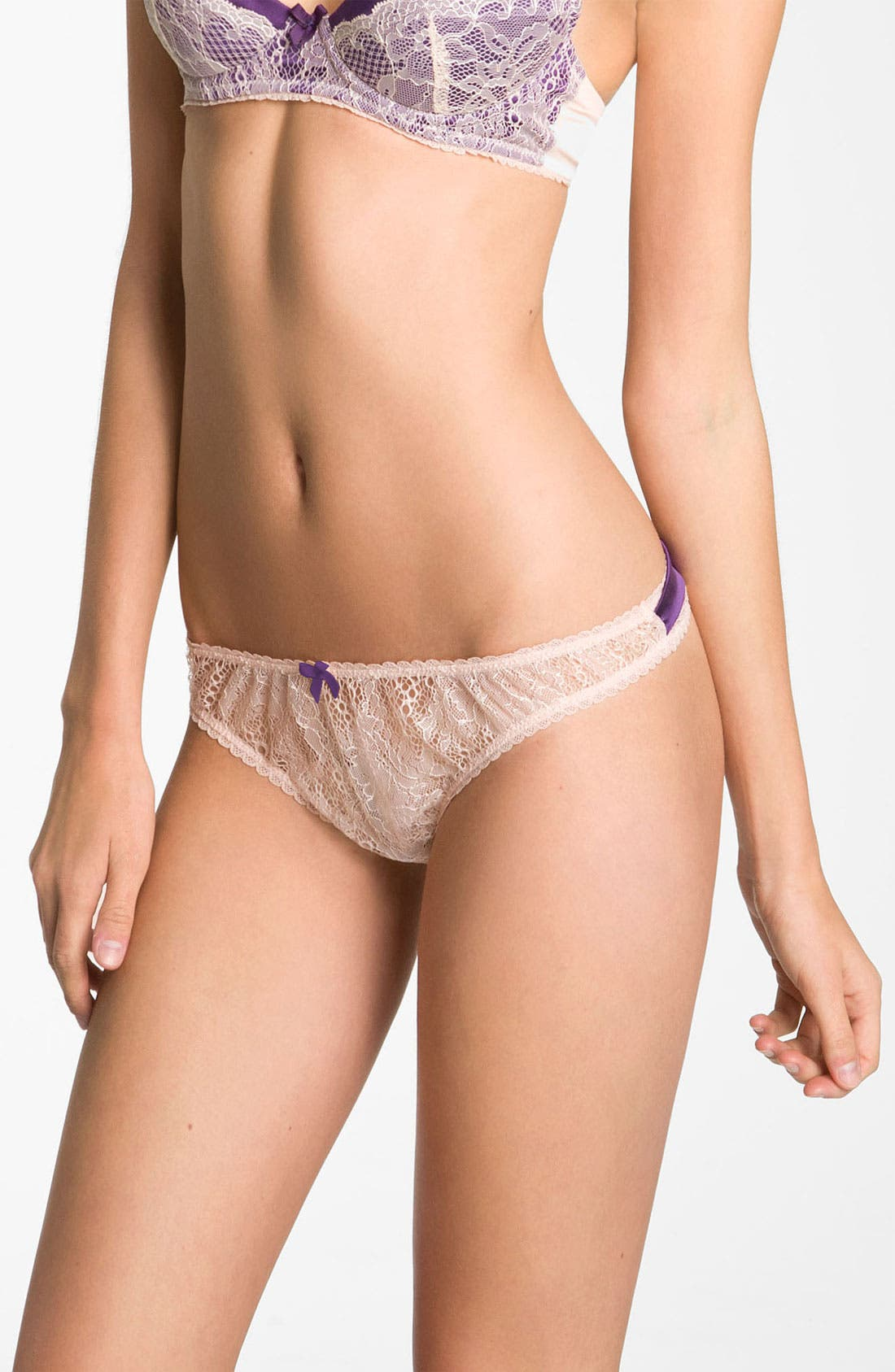 Alternate Image 1 Selected - Mimi Holliday 'Sea Breeze' Bow Thong