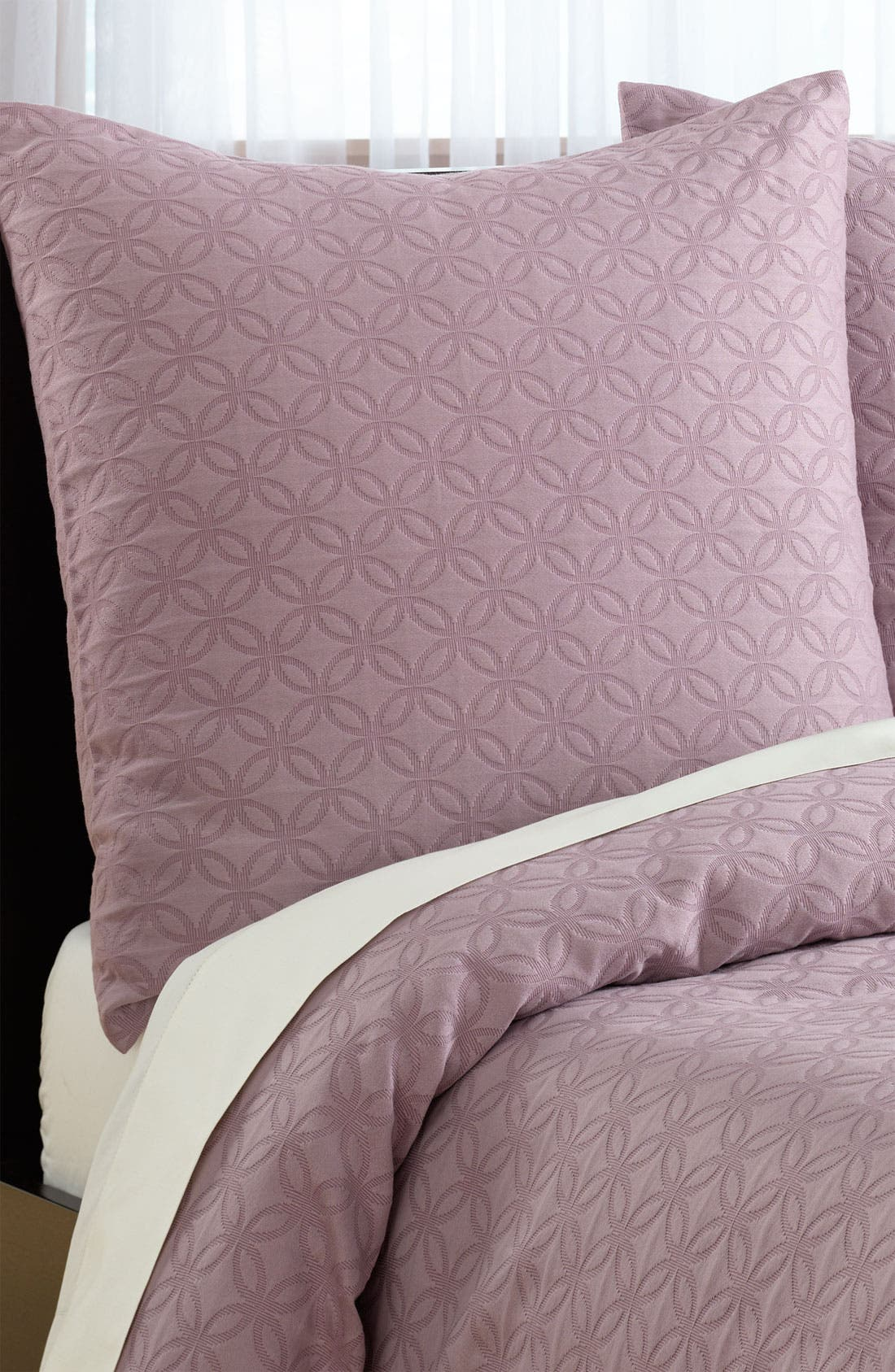 Alternate Image 1 Selected - Nordstrom at Home 'Trellis' Matelassé Euro Sham