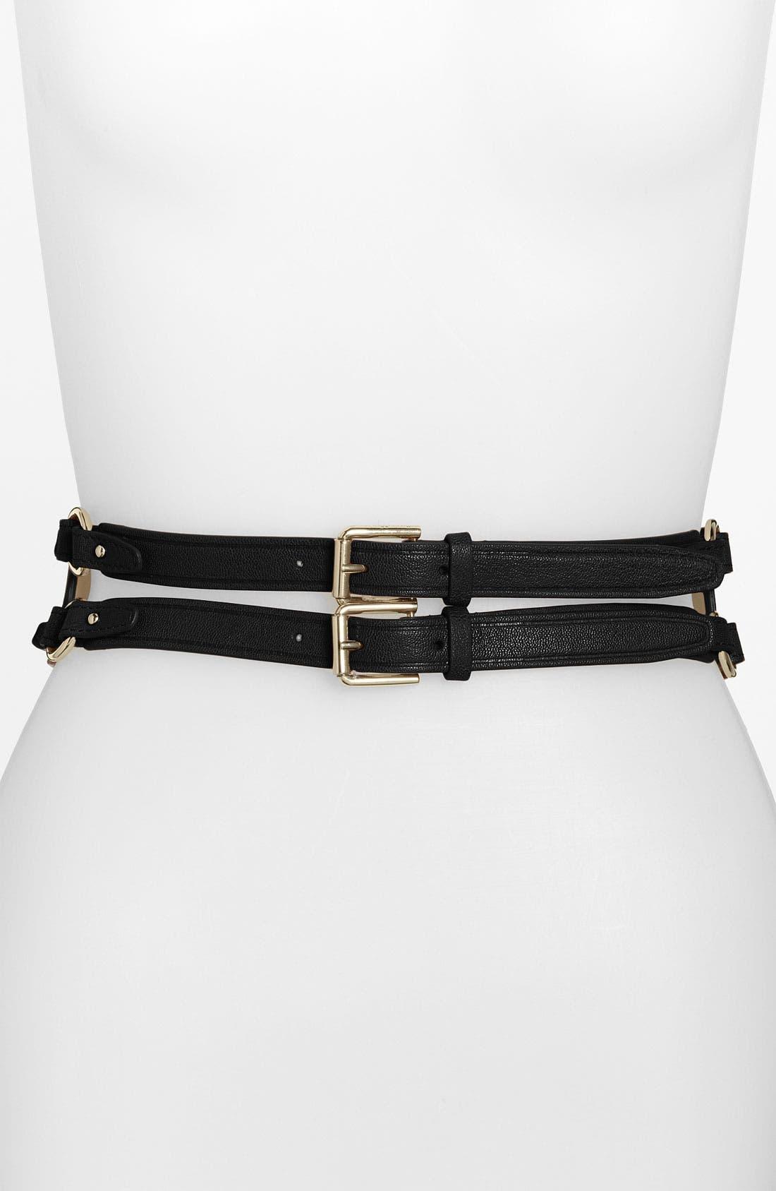 Alternate Image 1 Selected - Cole Haan 'Zoe' Wide Waist Belt
