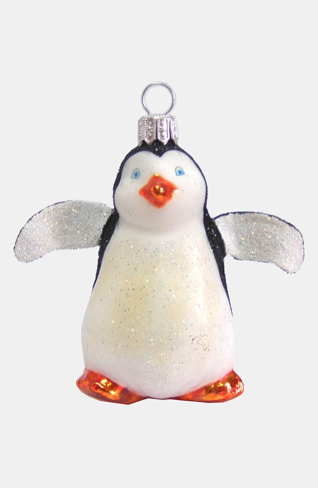 Main Image - Nordstrom at Home 'Penguin' Glass Ornament