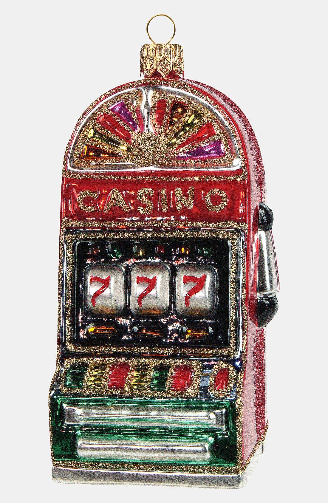Main Image - Nordstrom at Home 'Slot Machine' Glass Ornament