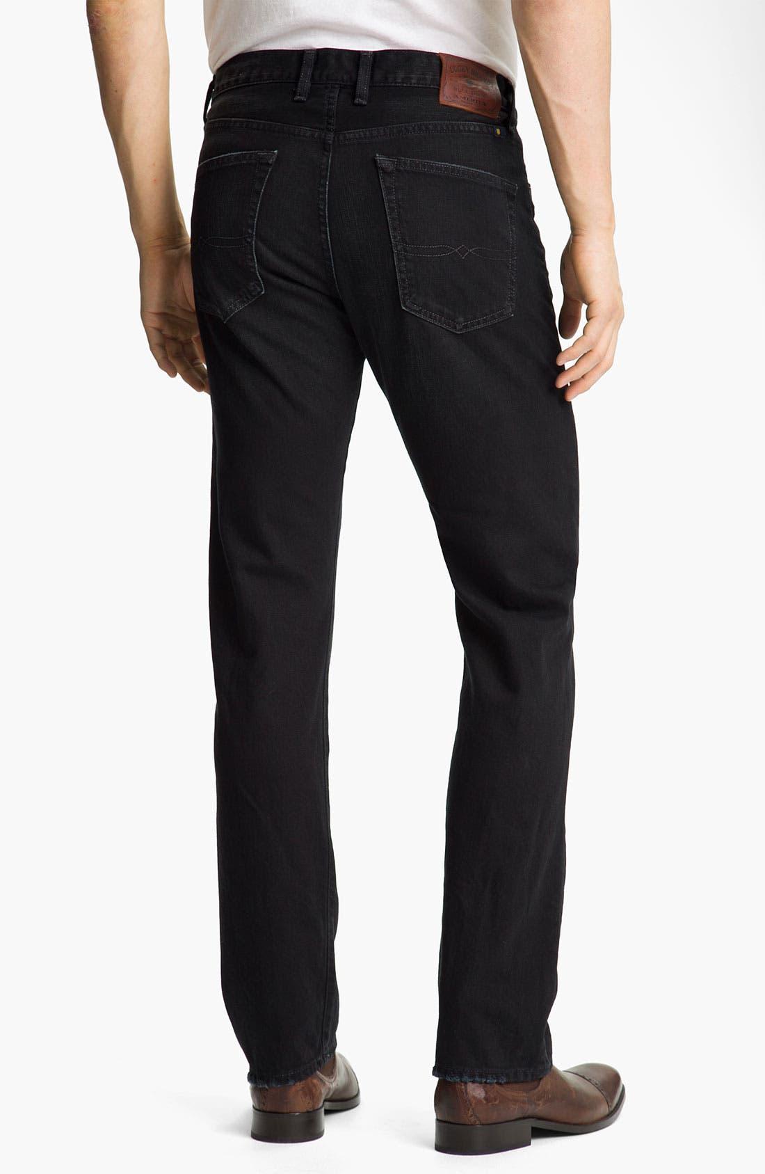 Alternate Image 2  - Lucky Brand '121 Heritage' Slim Straight Leg Jeans (Ol' Subway)