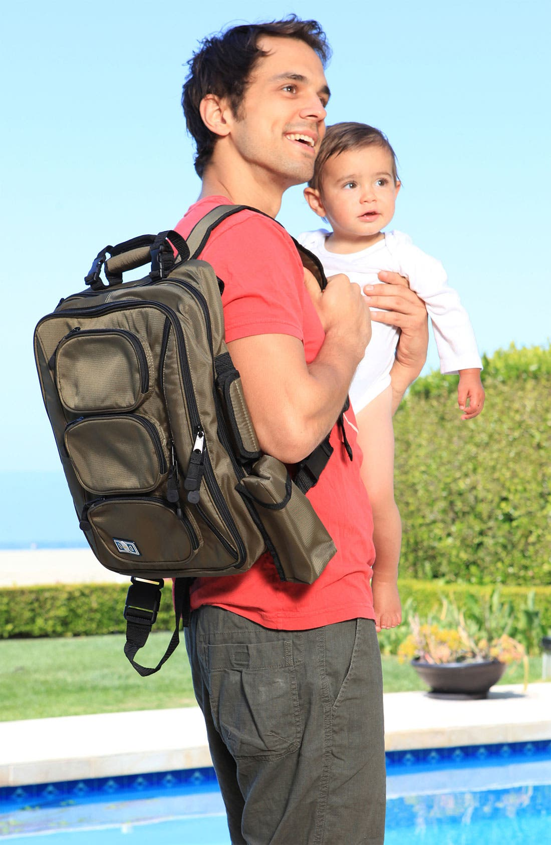 Alternate Image 2  - Diaper Dude Convertible Diaper Bag