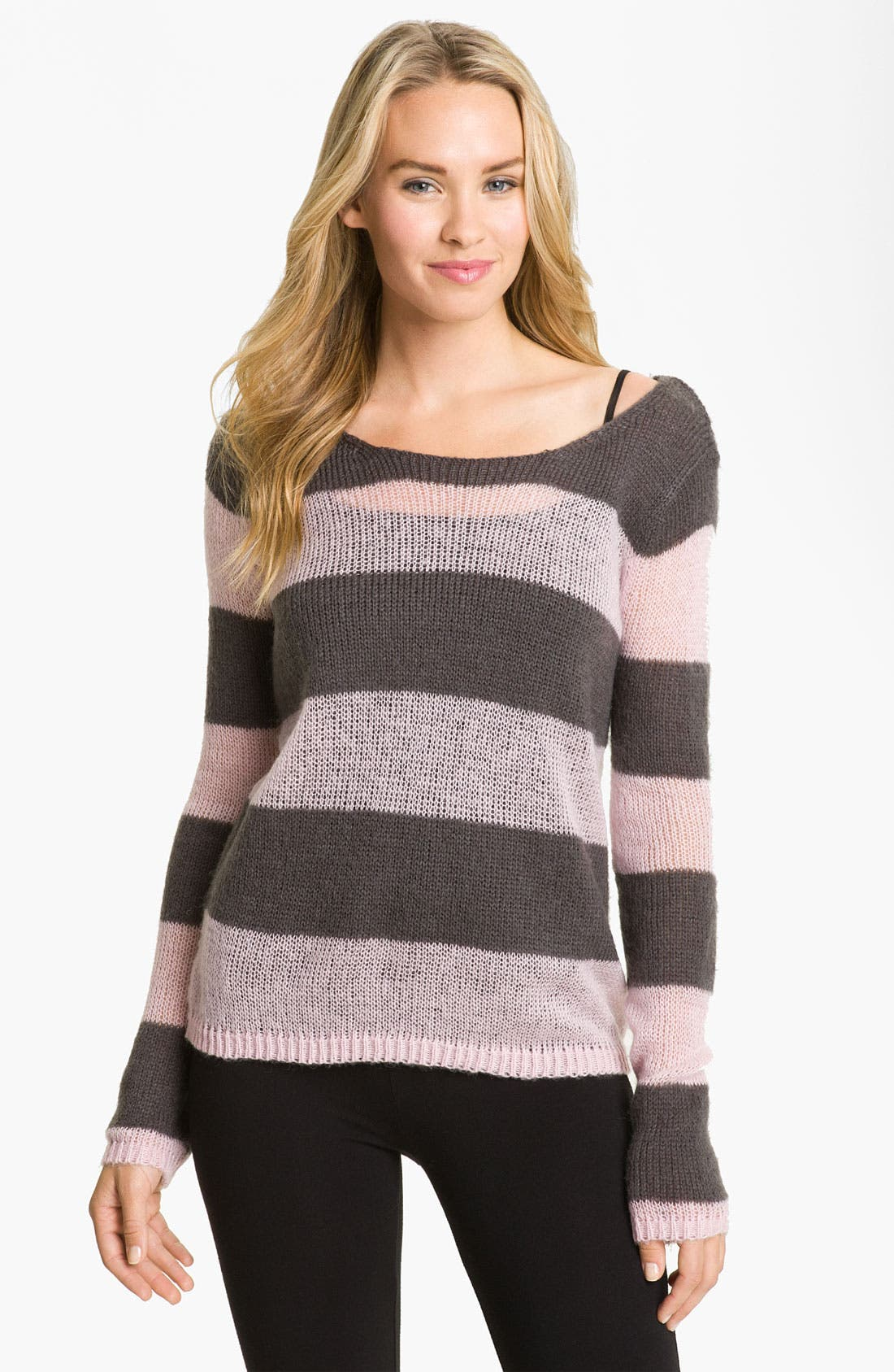 Alternate Image 1 Selected - PJ Salvage 'Stay the Night' Sweater