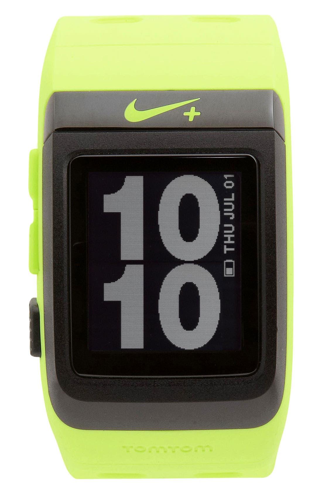 Alternate Image 1 Selected - Nike+ Sport Watch GPS, 35mm x 50mm