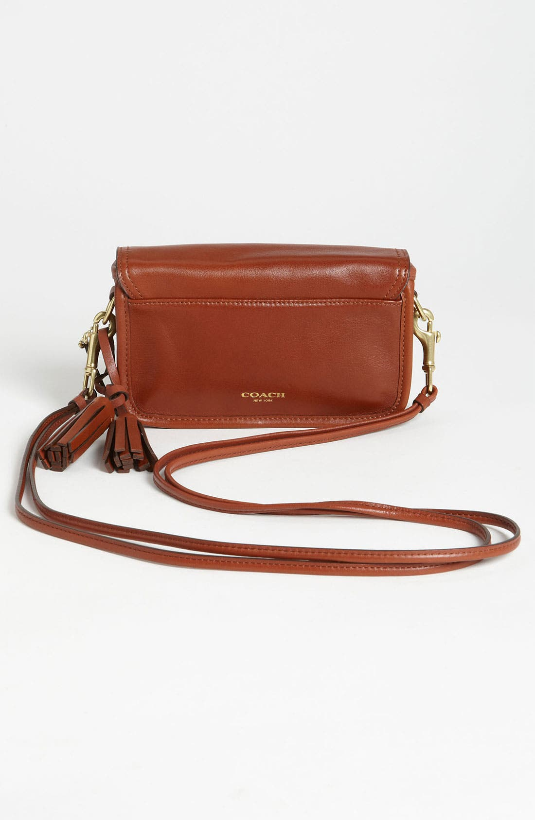 Alternate Image 4  - COACH Leather Crossbody Bag