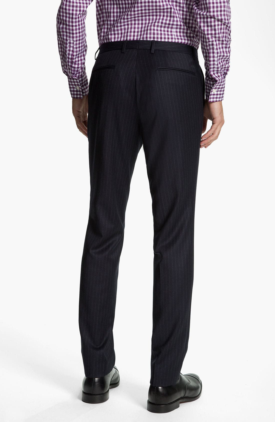 Alternate Image 5  - BOSS Black 'Rusty/Win' Stripe Suit