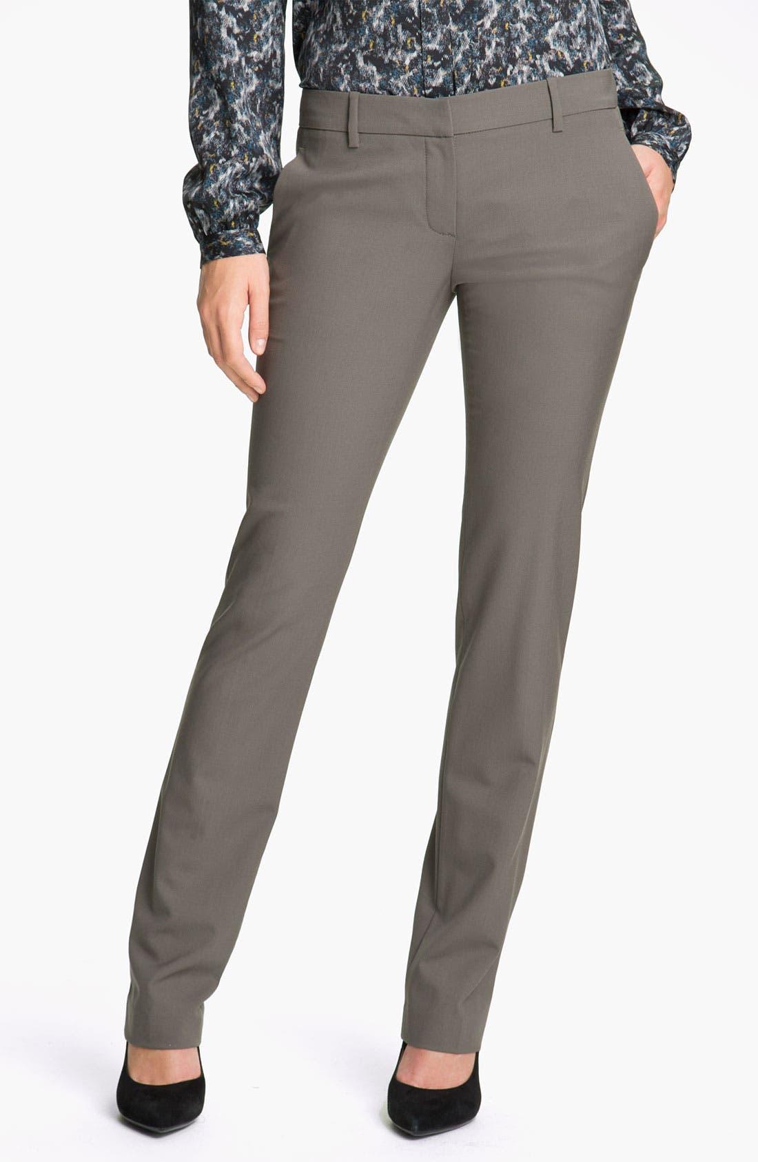 Alternate Image 1 Selected - Theory 'Nabiki - Tailor' Wool Pants