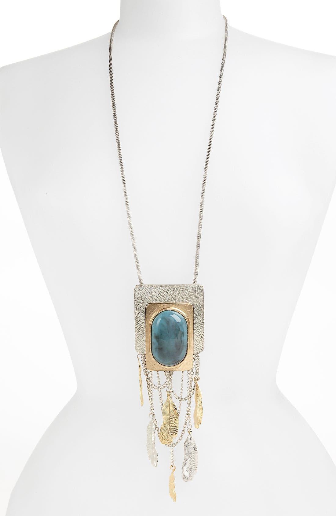 Alternate Image 1 Selected - Natasha Couture 'Deco Hippie' Pendant Necklace