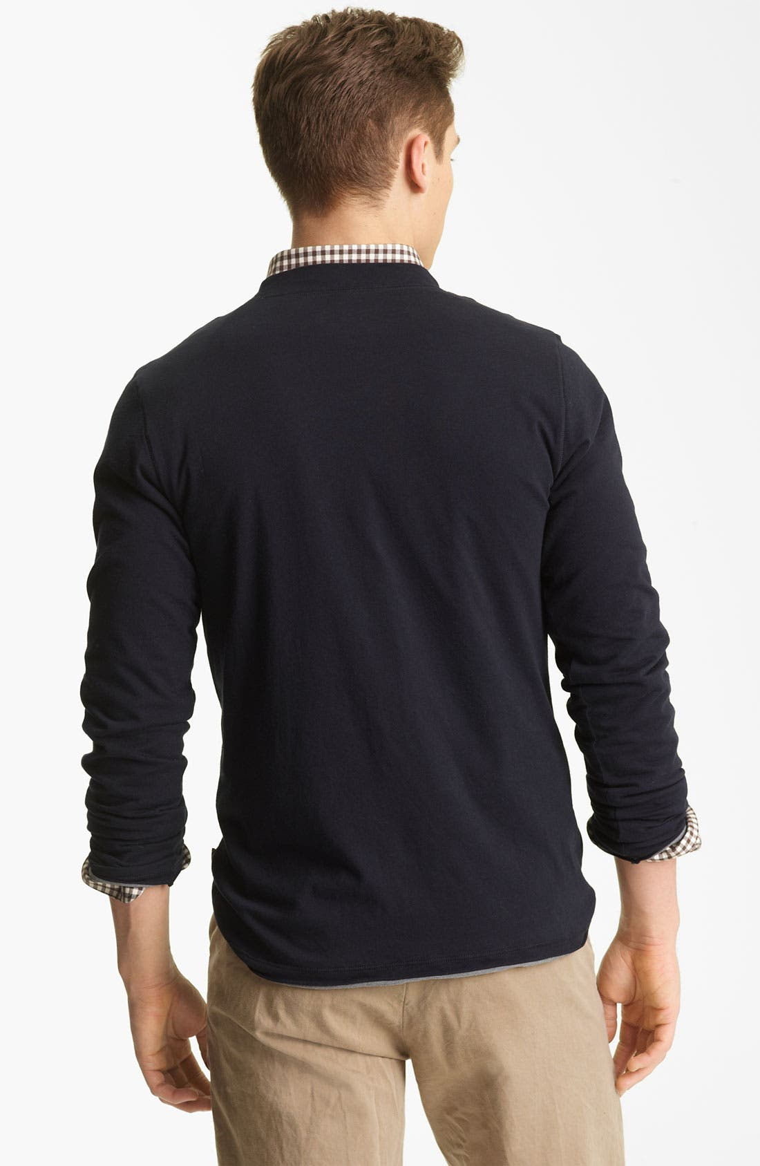 Alternate Image 2  - Billy Reid Reversible Long Sleeve T-Shirt