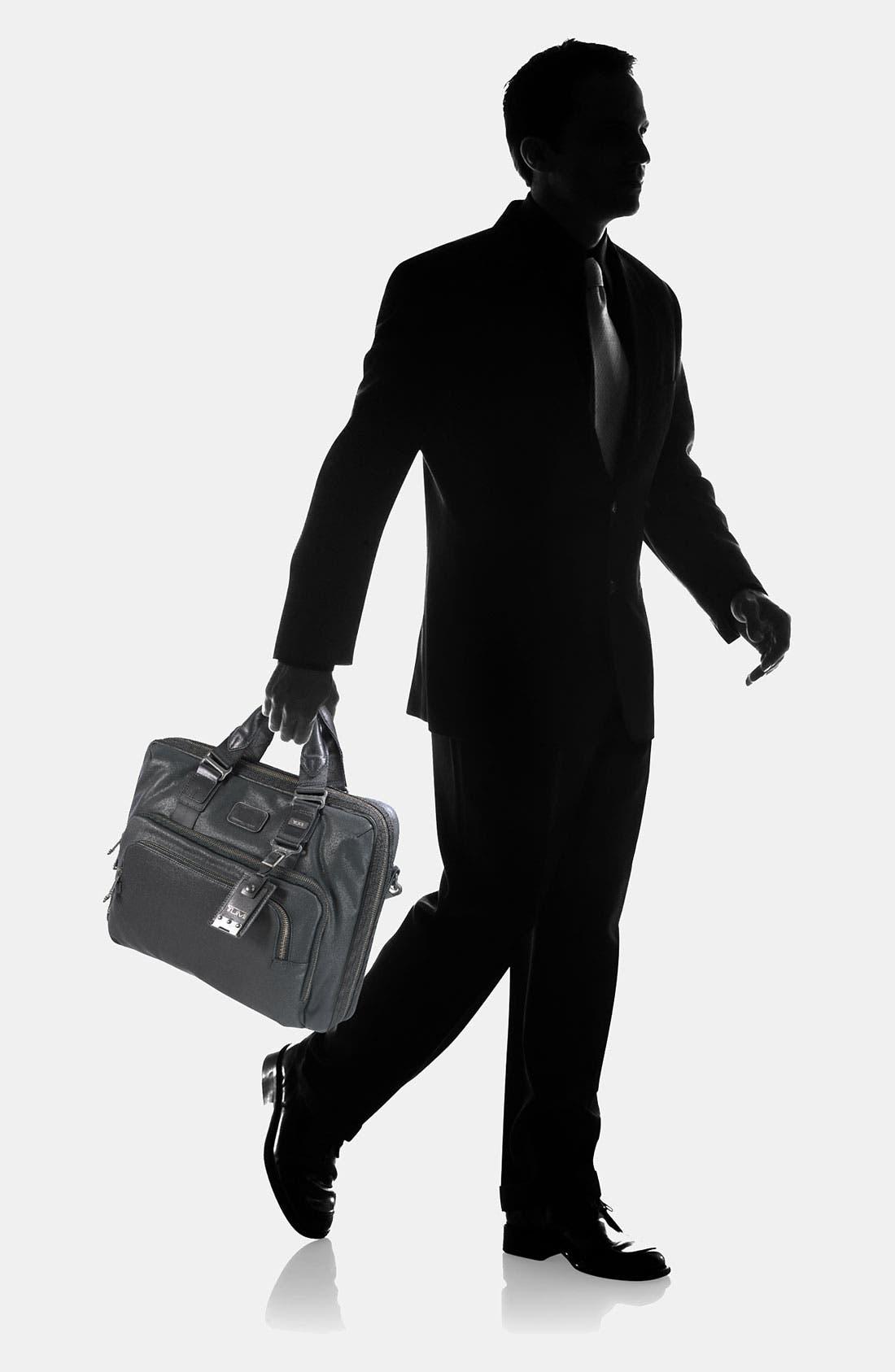 Alternate Image 6  - Tumi 'Alpha Bravo - Yuma' Slim Leather Briefcase