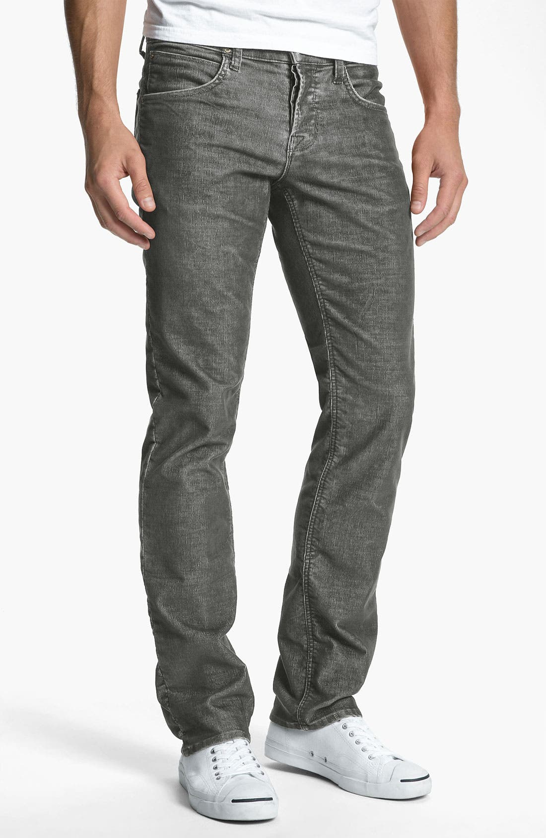 Alternate Image 1 Selected - Hudson Jeans 'Byron' Straight Leg Corduroy Pants