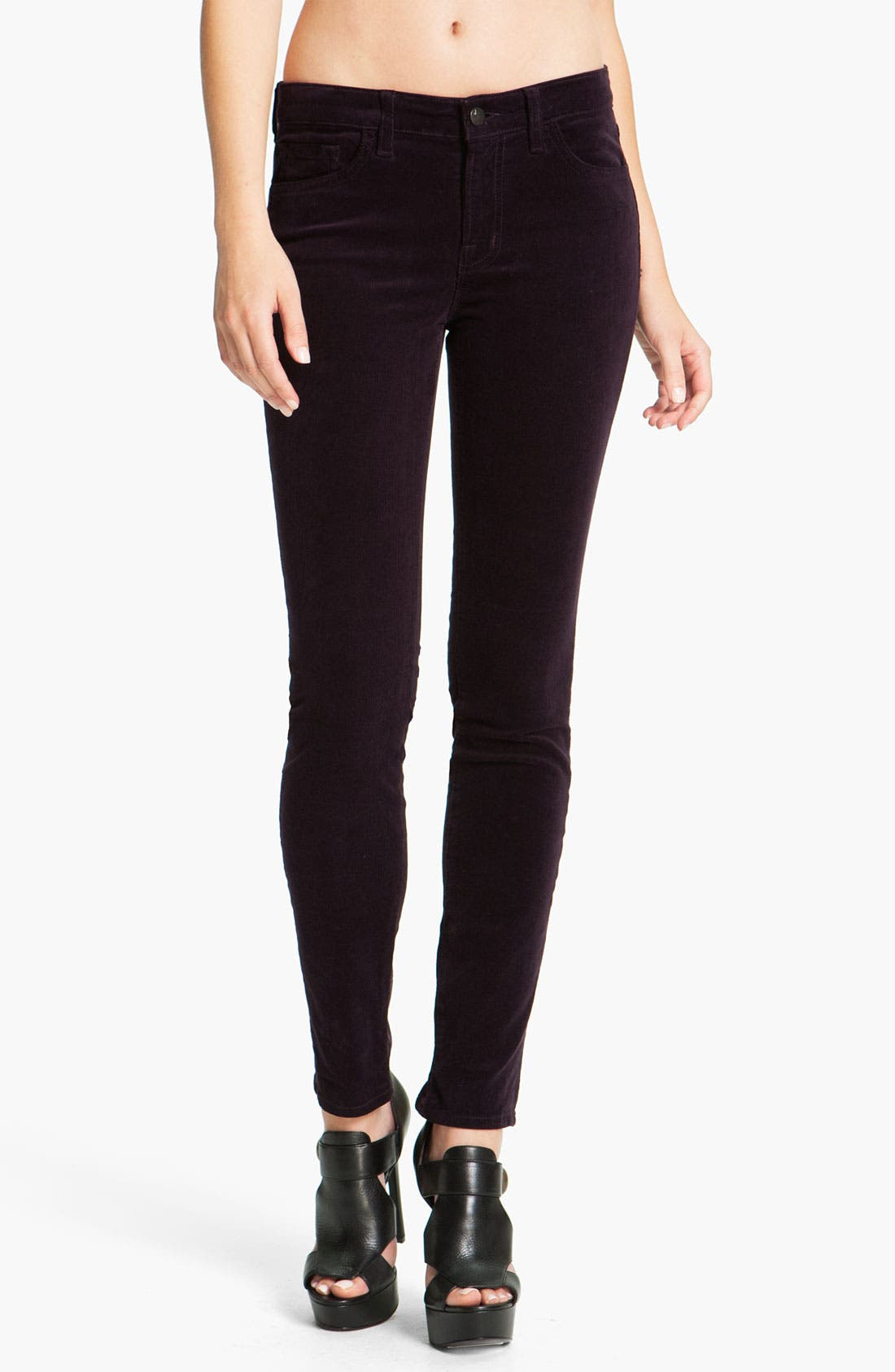 Main Image - J Brand Skinny Stretch Corduroy Pants