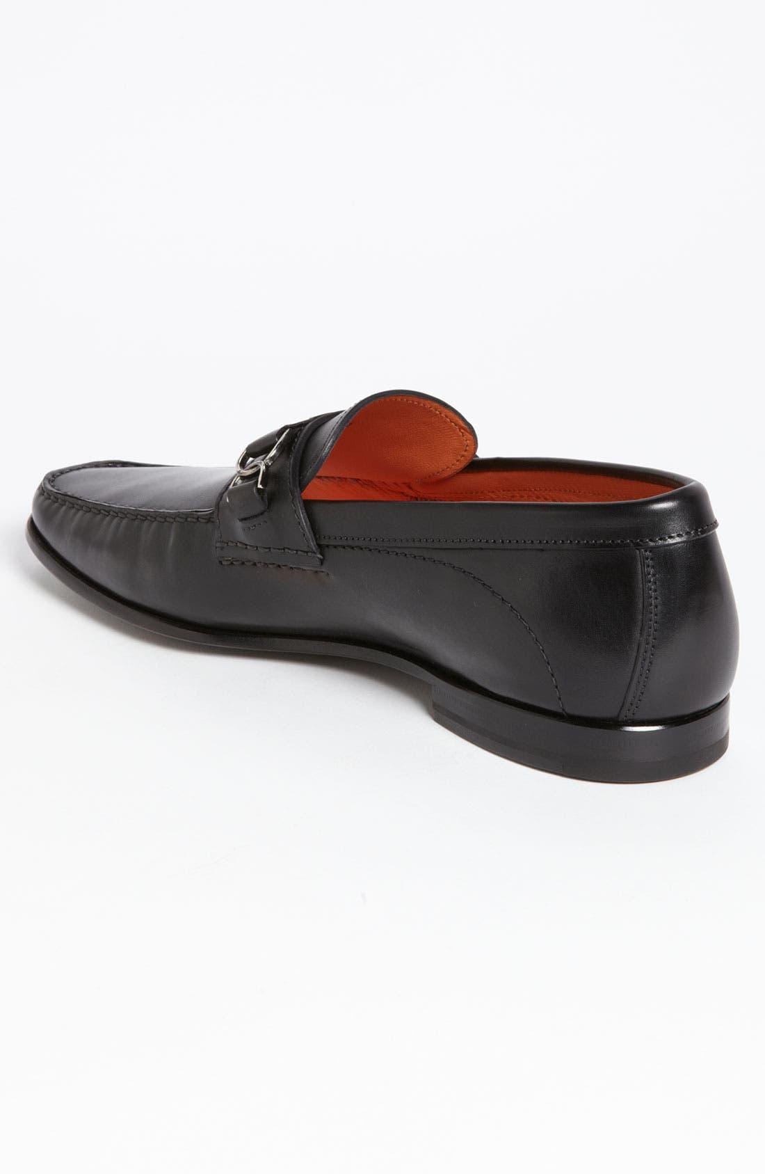 Alternate Image 2  - Santoni 'Seneca' Bit Loafer