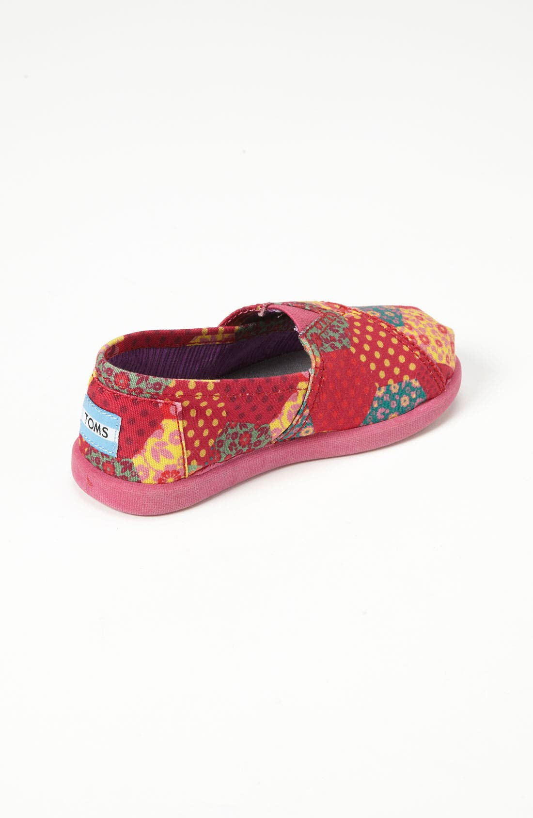 Alternate Image 2  - TOMS 'Classic Tiny - Patchwork' Slip-On (Baby, Walker & Toddler)