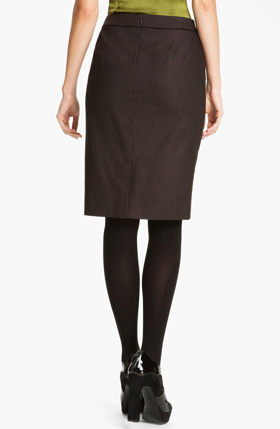 Alternate Image 2  - Classiques Entier® 'Stella Weave' Skirt