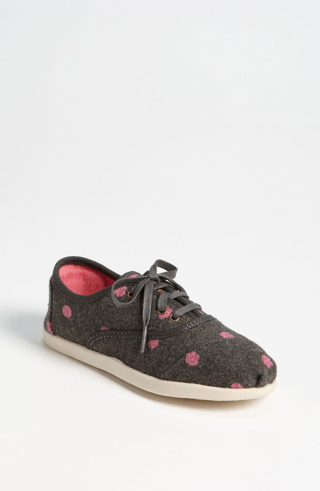 Main Image - TOMS 'Cordones - Youth' Wool Slip-On (Toddler, Little Kid & Big Kid)