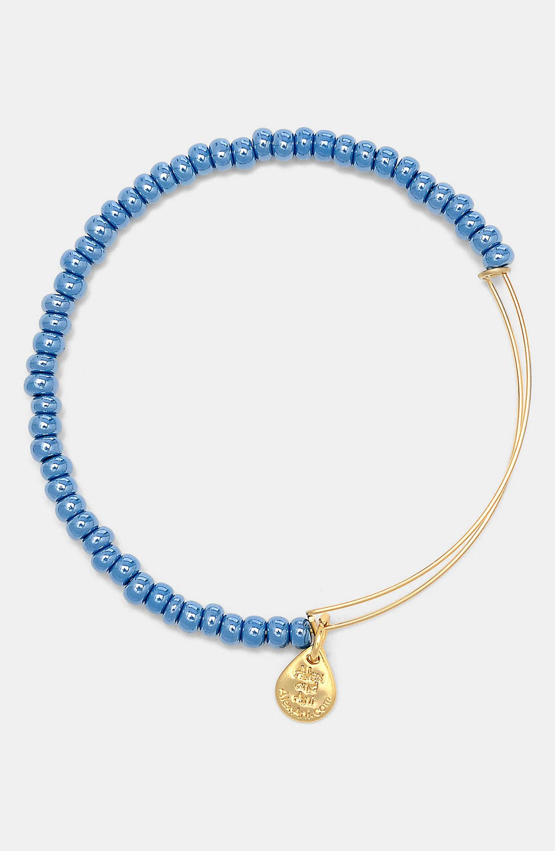 Main Image - Alex and Ani 'Sea Bead' Expandable Wire Bangle
