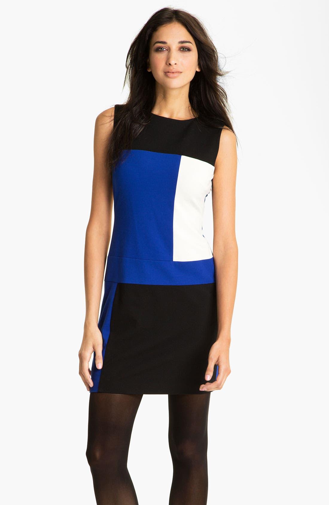 Main Image - Vince Camuto Colorblock Sheath Dress (Online Exclusive)