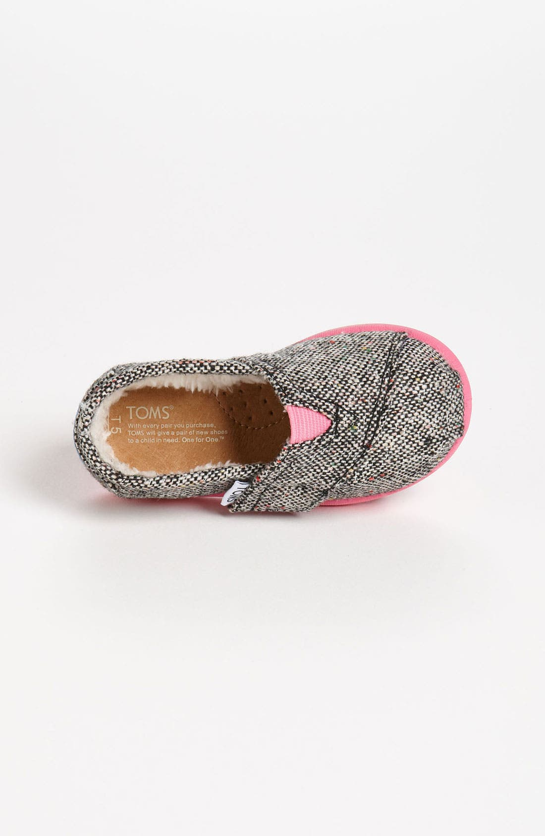 Alternate Image 3  - TOMS 'Classic Tiny - Karsen' Slip-On (Baby, Walker & Toddler)