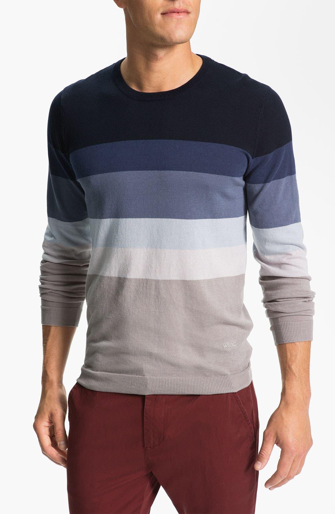 Alternate Image 1 Selected - WeSC 'Zoltan' Crewneck Sweater