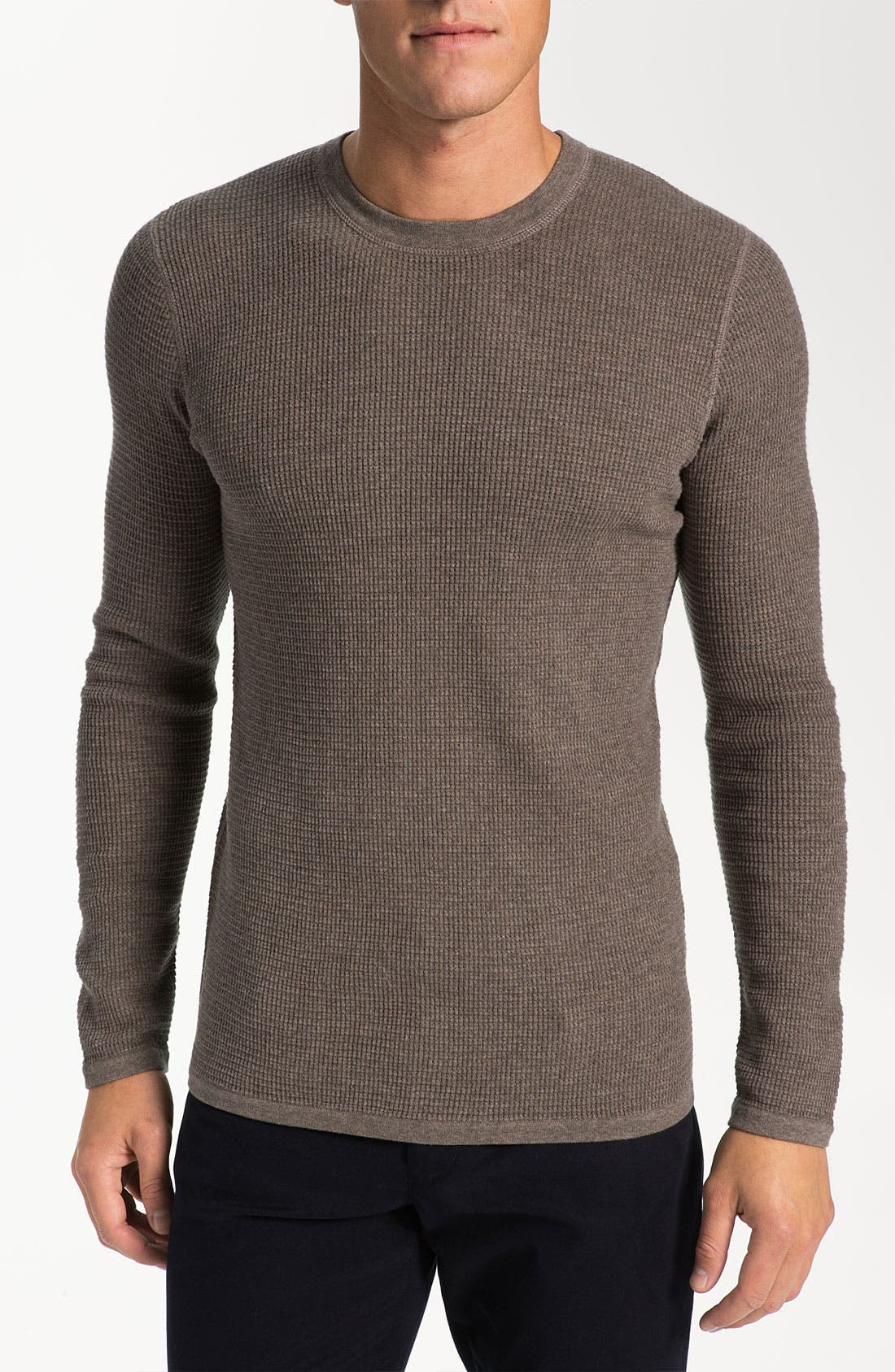 Alternate Image 1 Selected - Vince Waffle Knit Sweater
