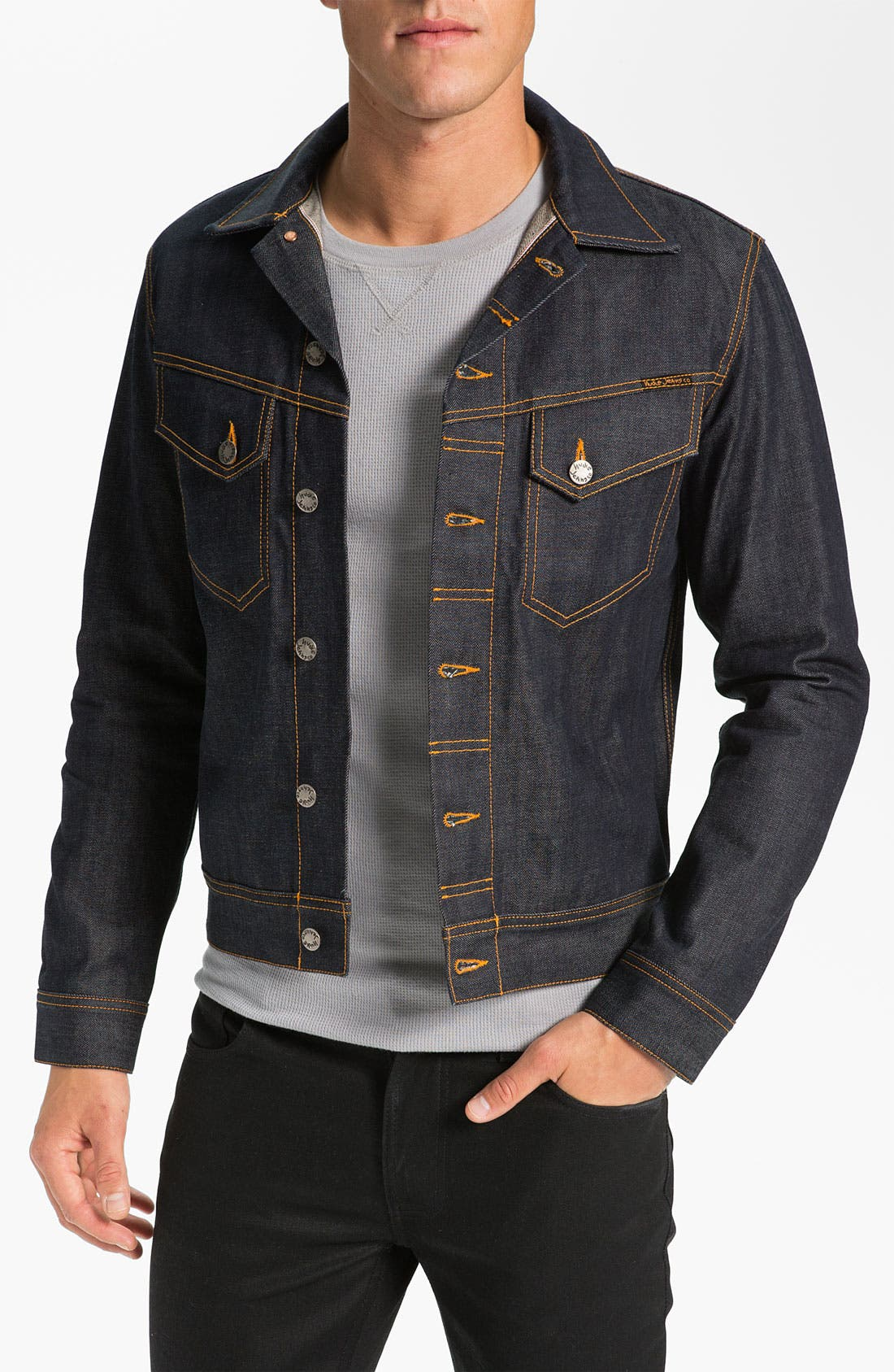 Alternate Image 1 Selected - Nudie Jeans Organic Dry Denim Jacket
