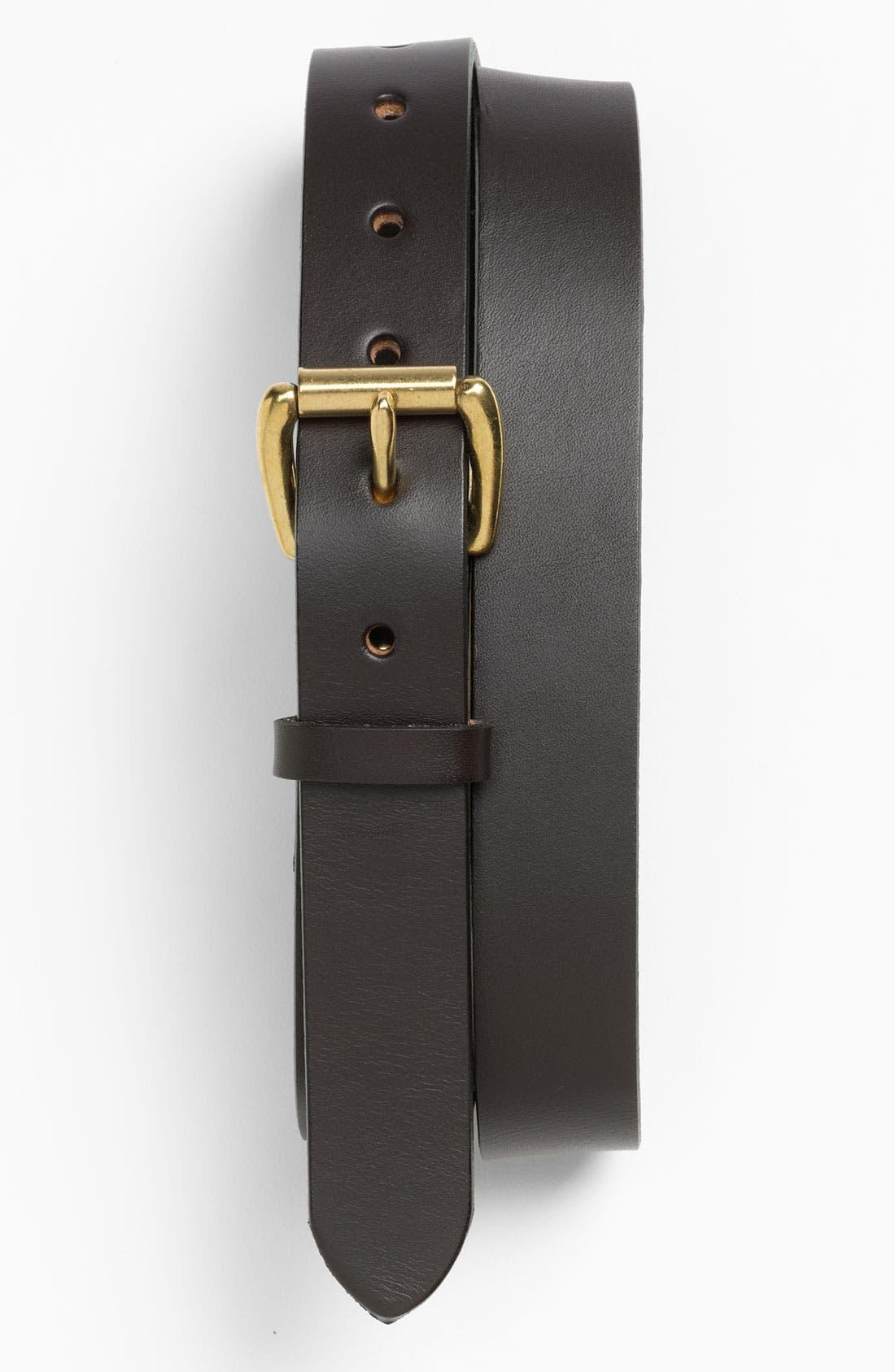 Alternate Image 1 Selected - Filson Leather Belt