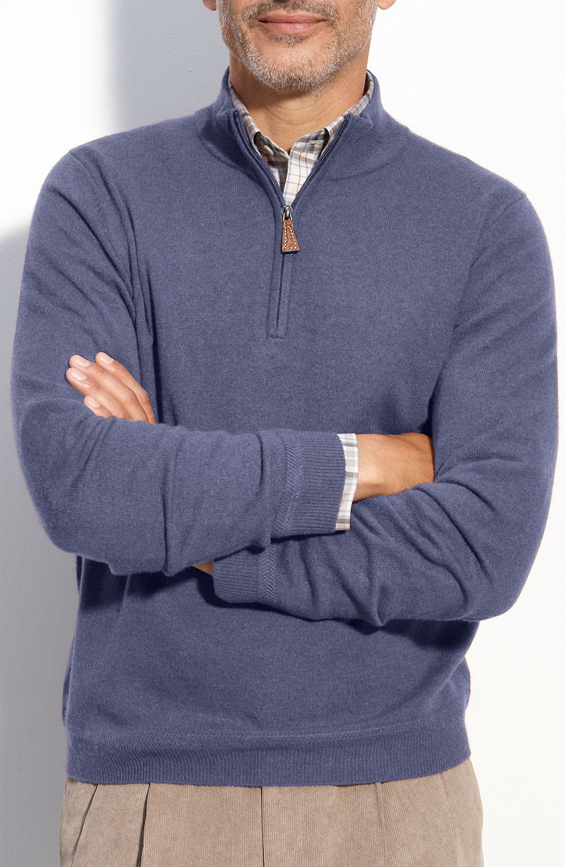 Alternate Image 1 Selected - John W. Nordstrom® Cashmere Sweater