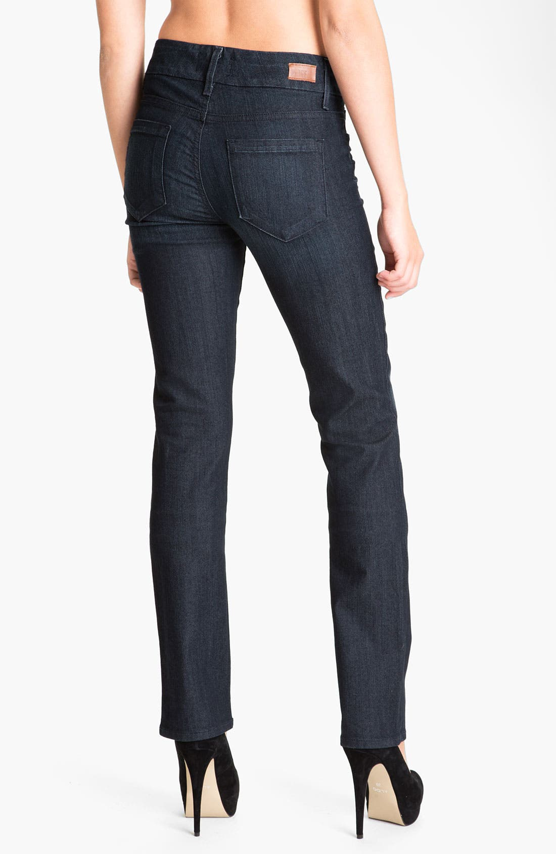 Alternate Image 2  - Paige Denim 'Kennedy' Straight Leg Stretch Jeans (Tonal Stream)