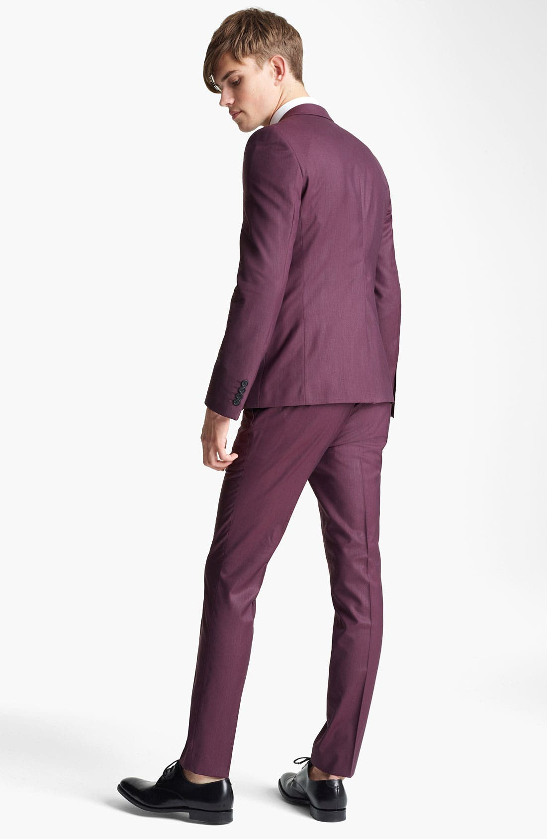 Alternate Image 5  - Topman 'Liquid' Skinny Blazer