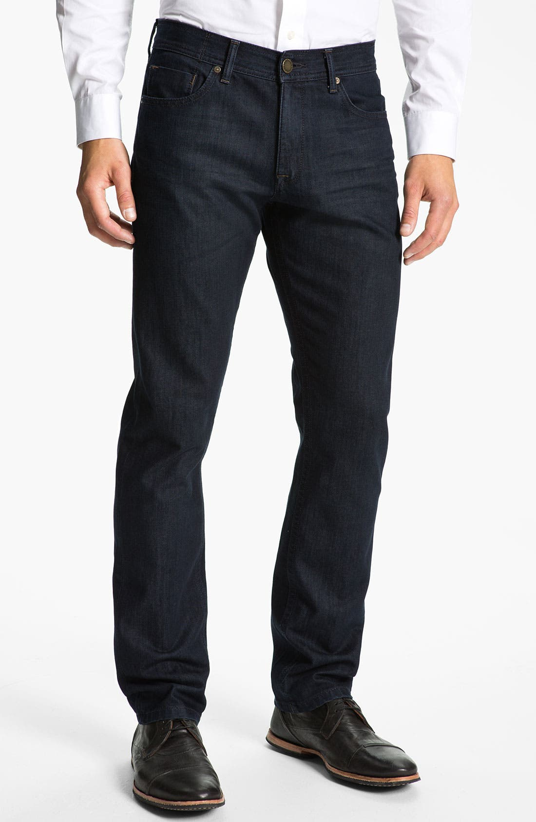 Alternate Image 1 Selected - DL1961 'Vince' Straight Leg Jeans (Diablo)