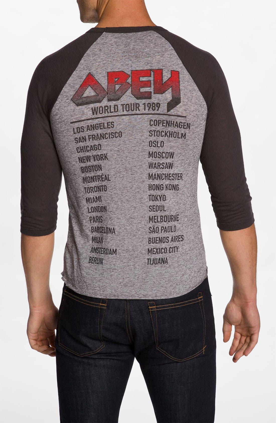 Alternate Image 2  - Obey 'Marquee' Raglan Baseball T-Shirt