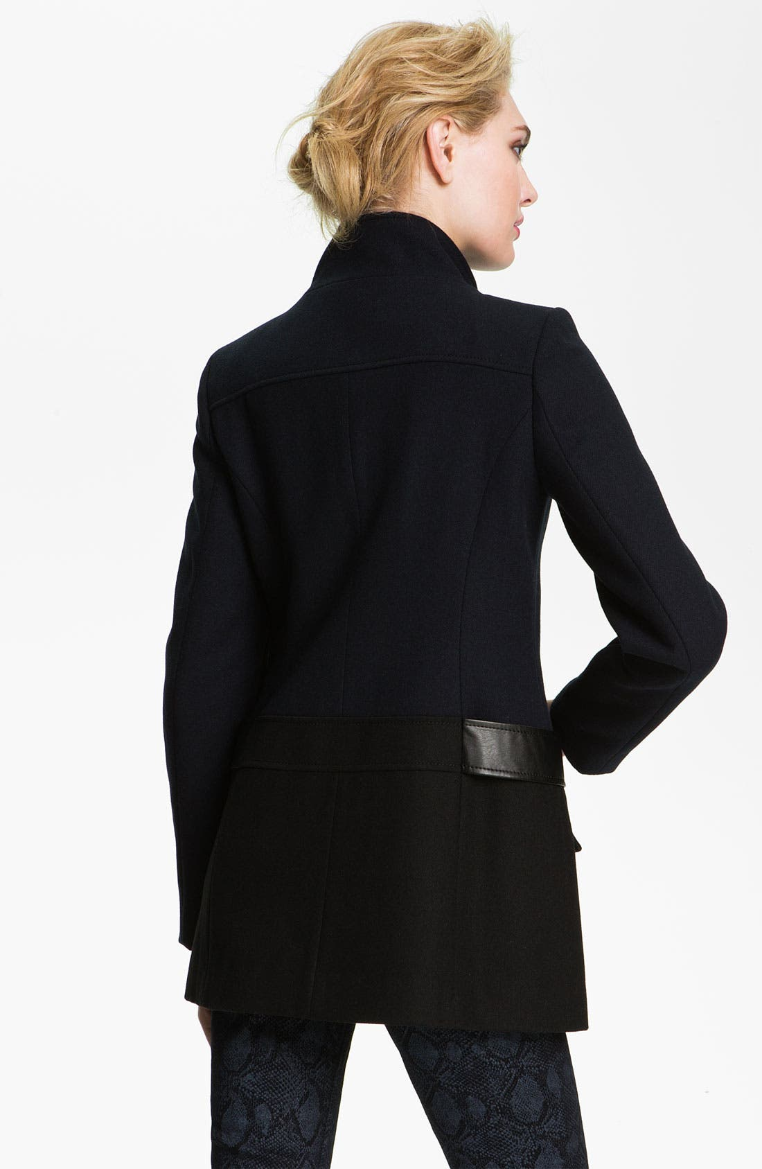 Alternate Image 2  - Vince Camuto Colorblock Peacoat