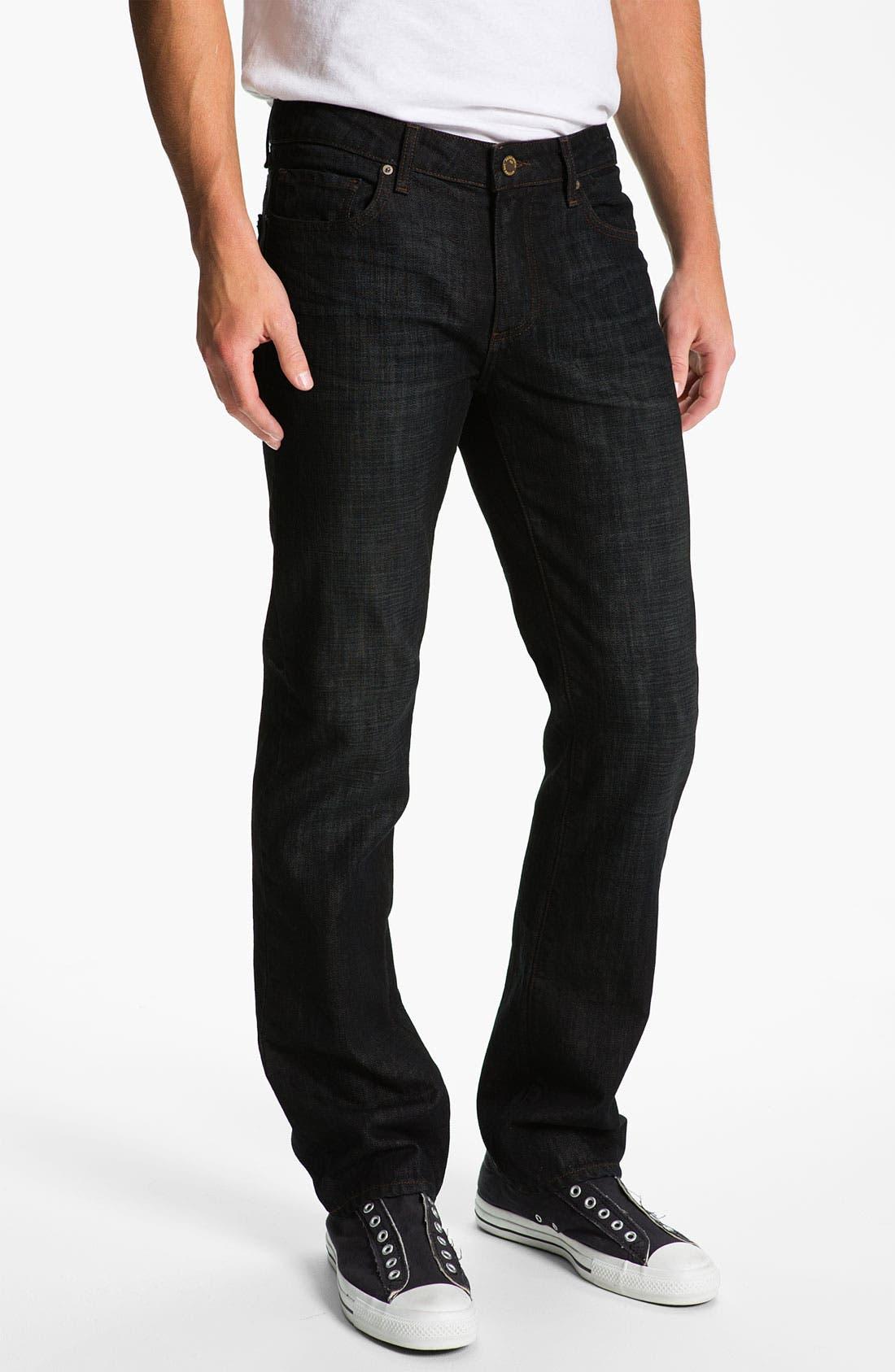Alternate Image 2  - PAIGE 'Normandie' Straight Leg Jeans (Alpha)