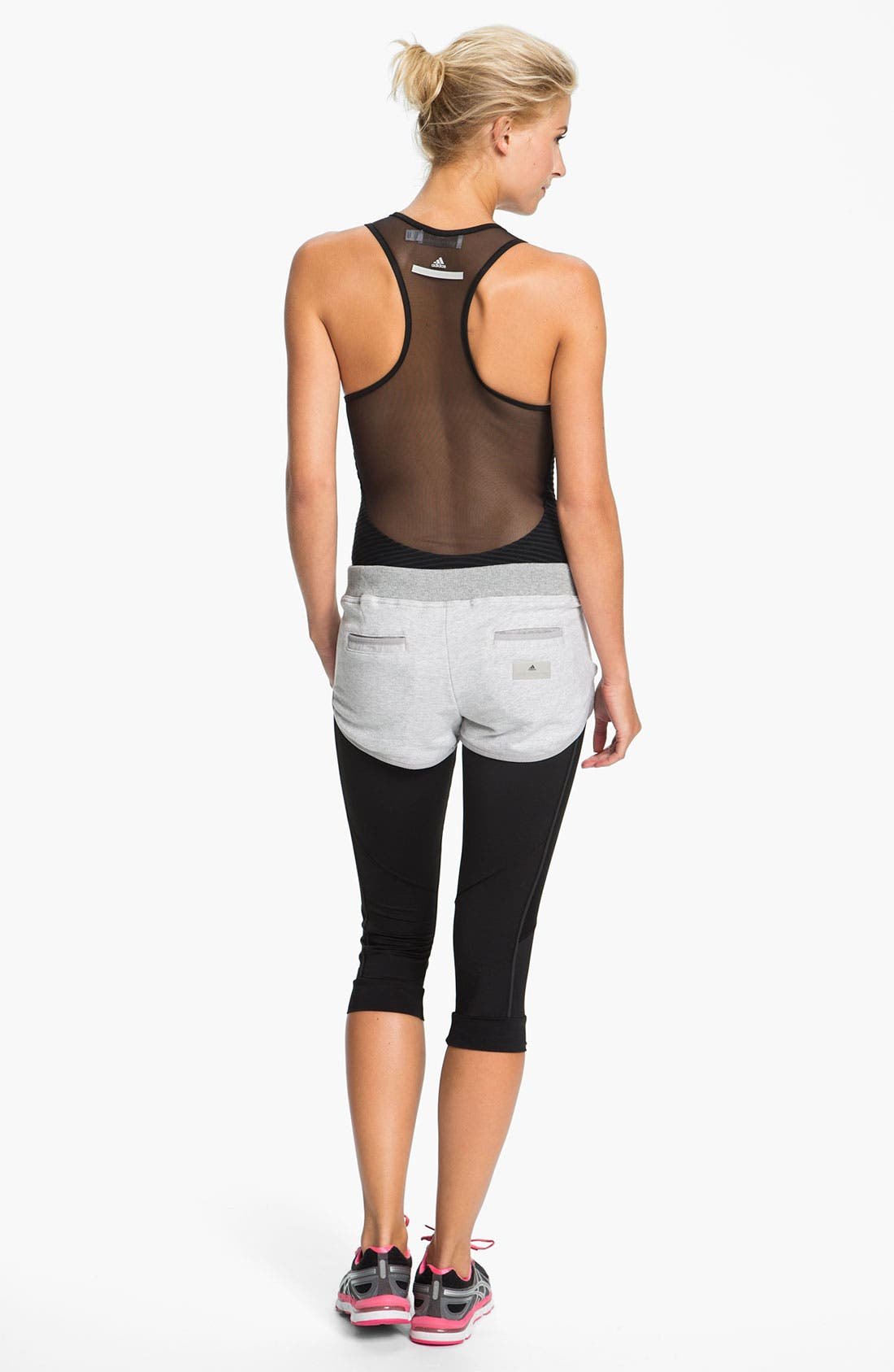 Alternate Image 3  - adidas by Stella McCartney 'Essentials' Organic Cotton Shorts