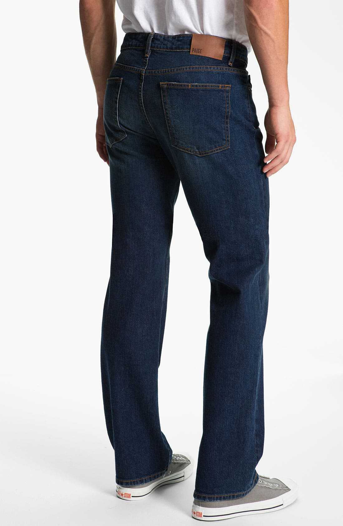 Alternate Image 1 Selected - PAIGE 'Doheny' Straight Leg Jeans (K2)