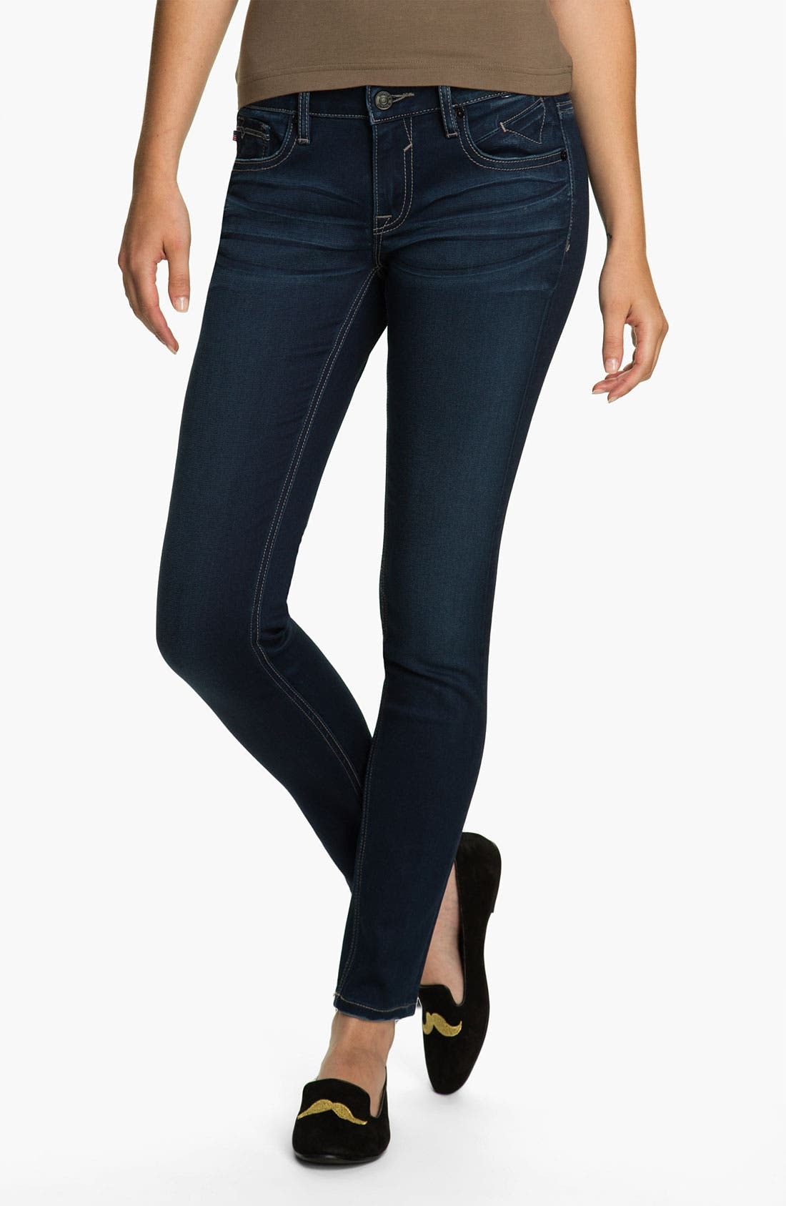 Alternate Image 2  - Vigoss Skinny Stretch Skinny Jeans (Juniors)