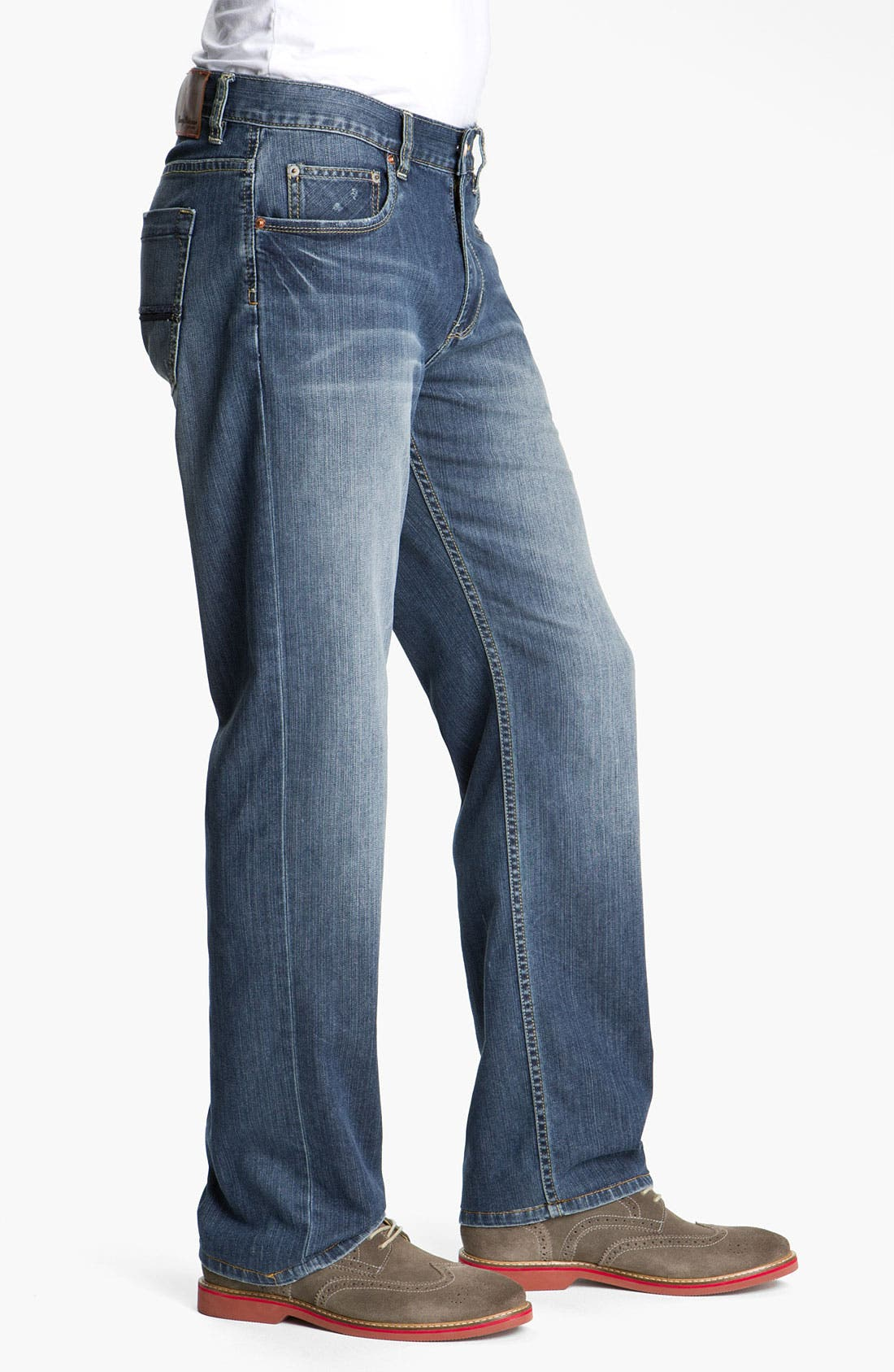 Alternate Image 3  - Tommy Bahama Denim 'Dylan' Standard Fit Jeans (Vintage Medium)(Big & Tall)