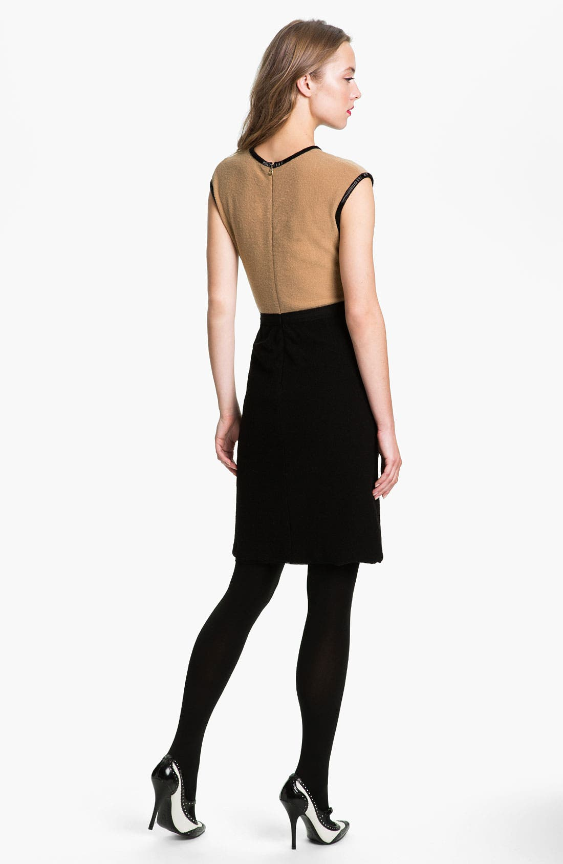 Alternate Image 2  - Tory Burch 'Jameson' Wool Sheath Dress