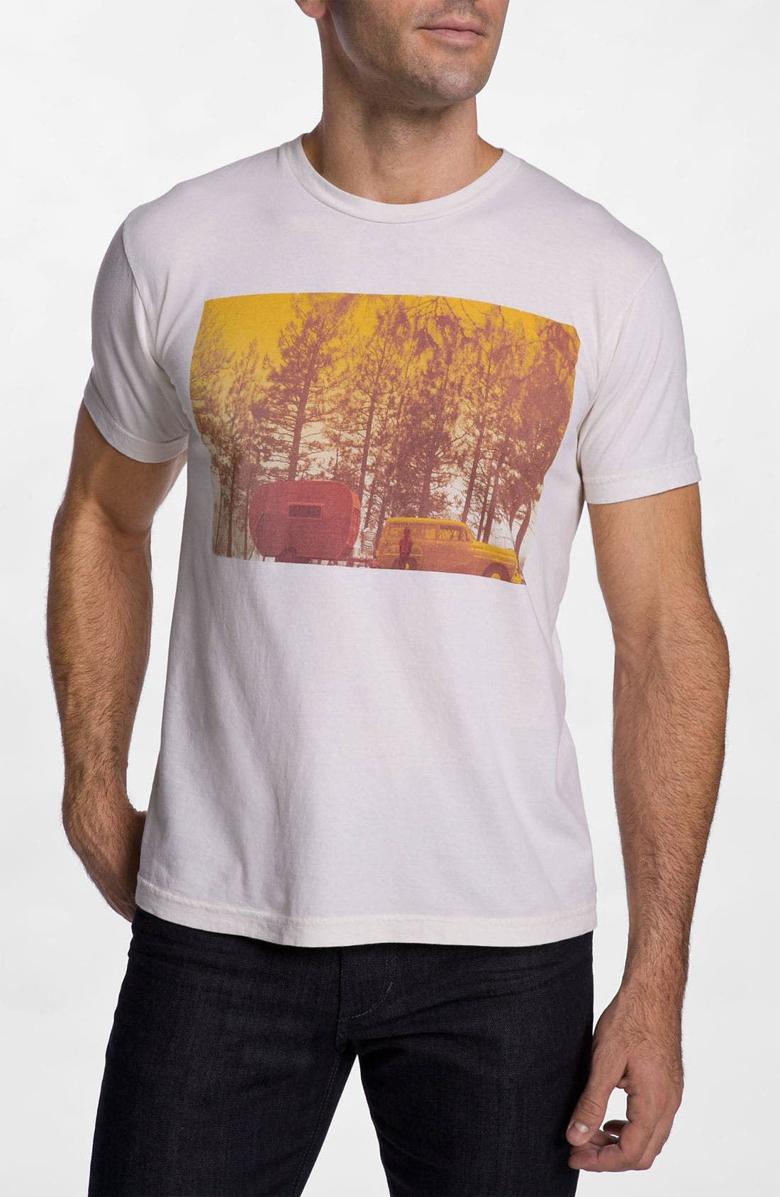 Alternate Image 1 Selected - The Poster List '1950s Camping' T-Shirt