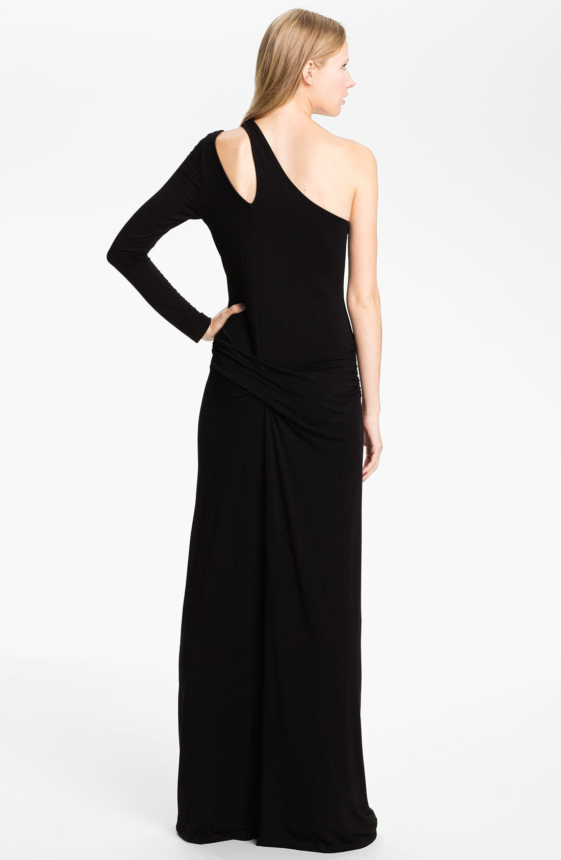 Alternate Image 2  - Young, Fabulous & Broke 'Vinny' One Shoulder Maxi Dress