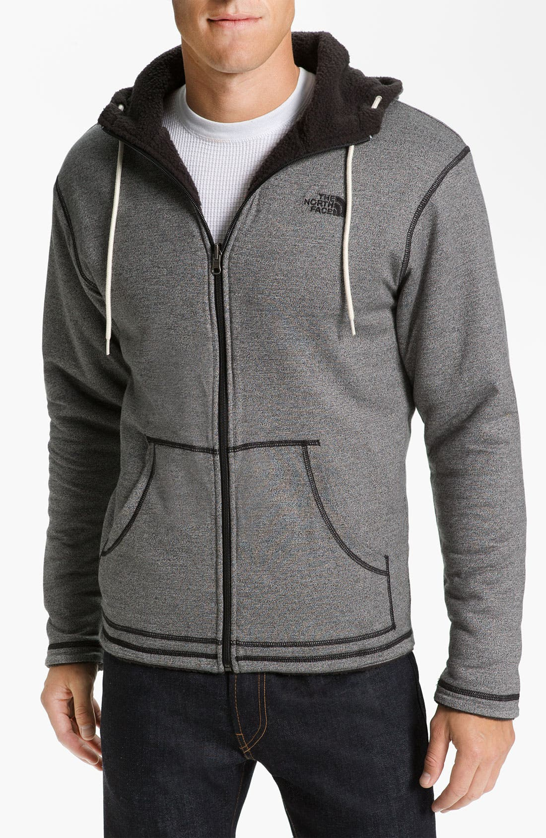 Alternate Image 1 Selected - The North Face 'Carnosa' Reversible Zip Hoodie