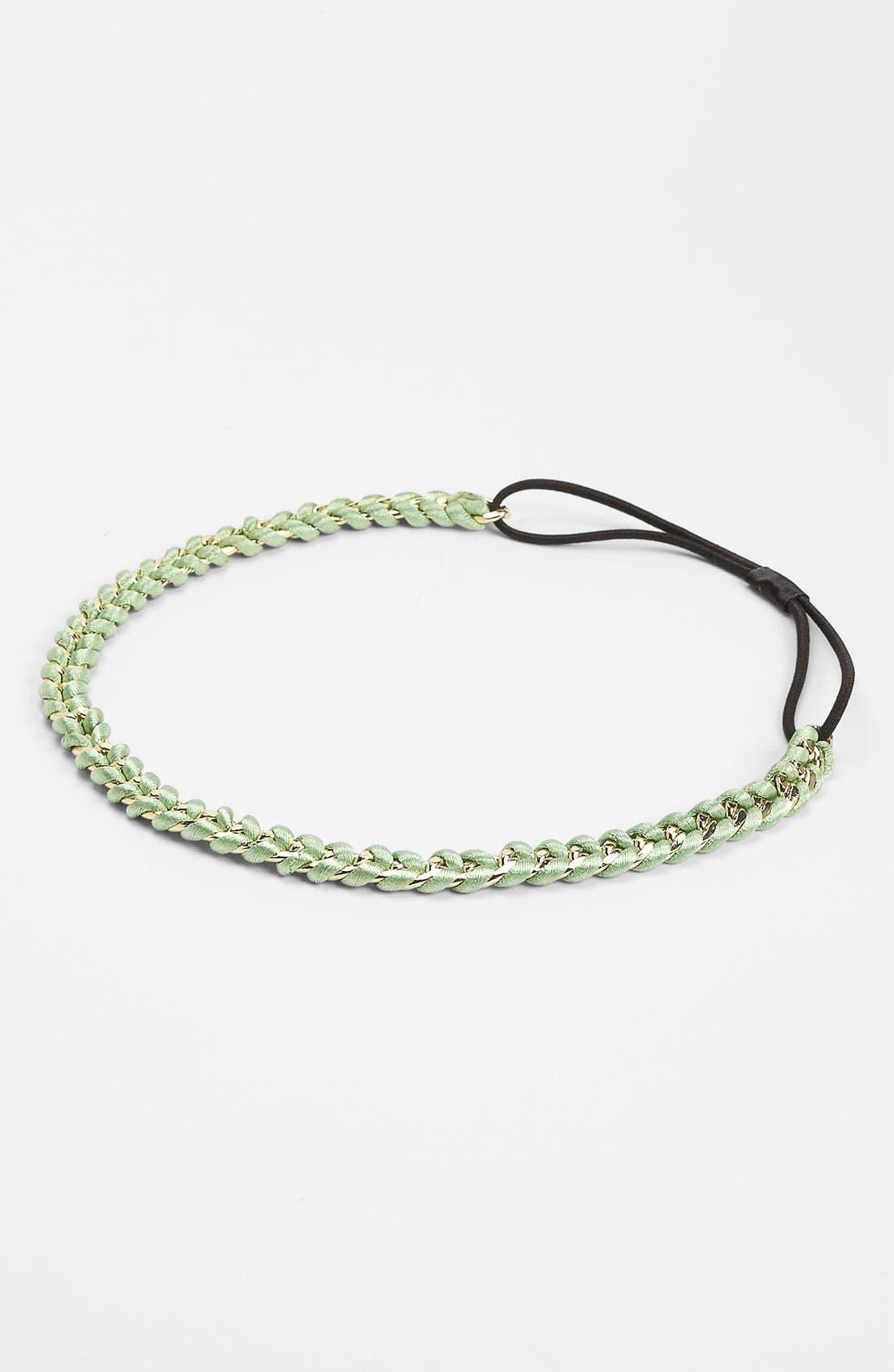 Main Image - Lulu Braided Chain Headband