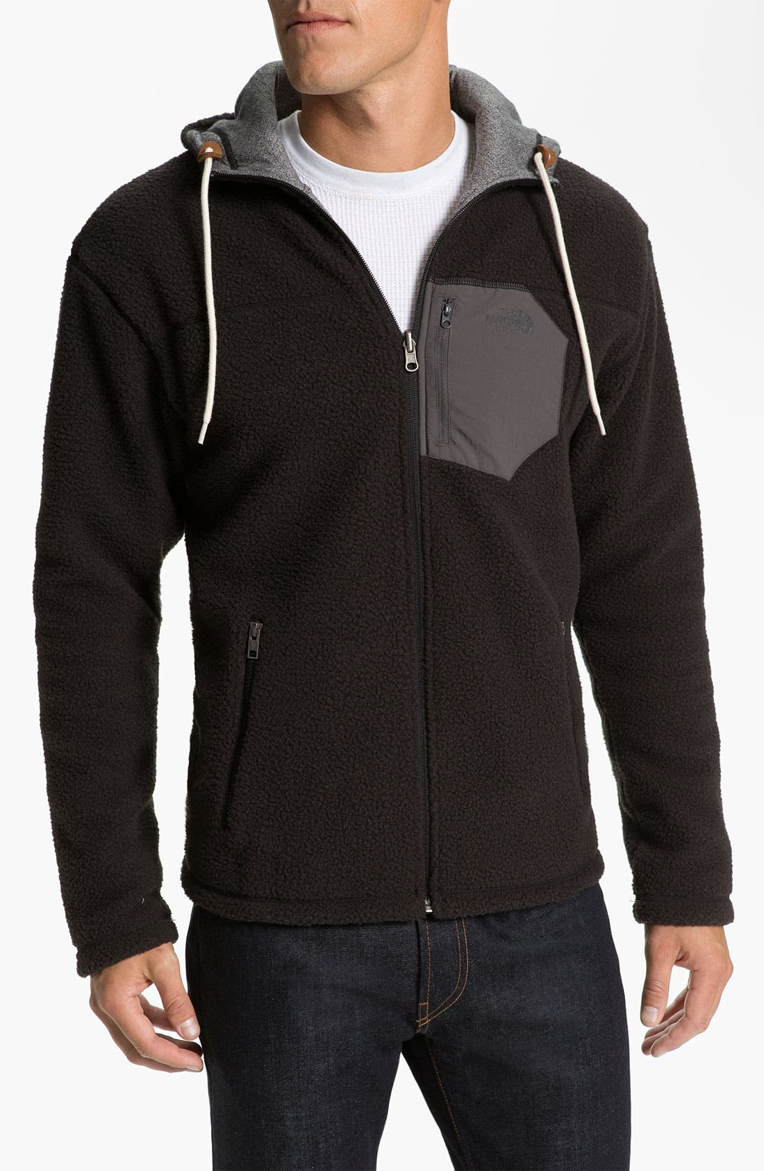 Alternate Image 2  - The North Face 'Carnosa' Reversible Zip Hoodie