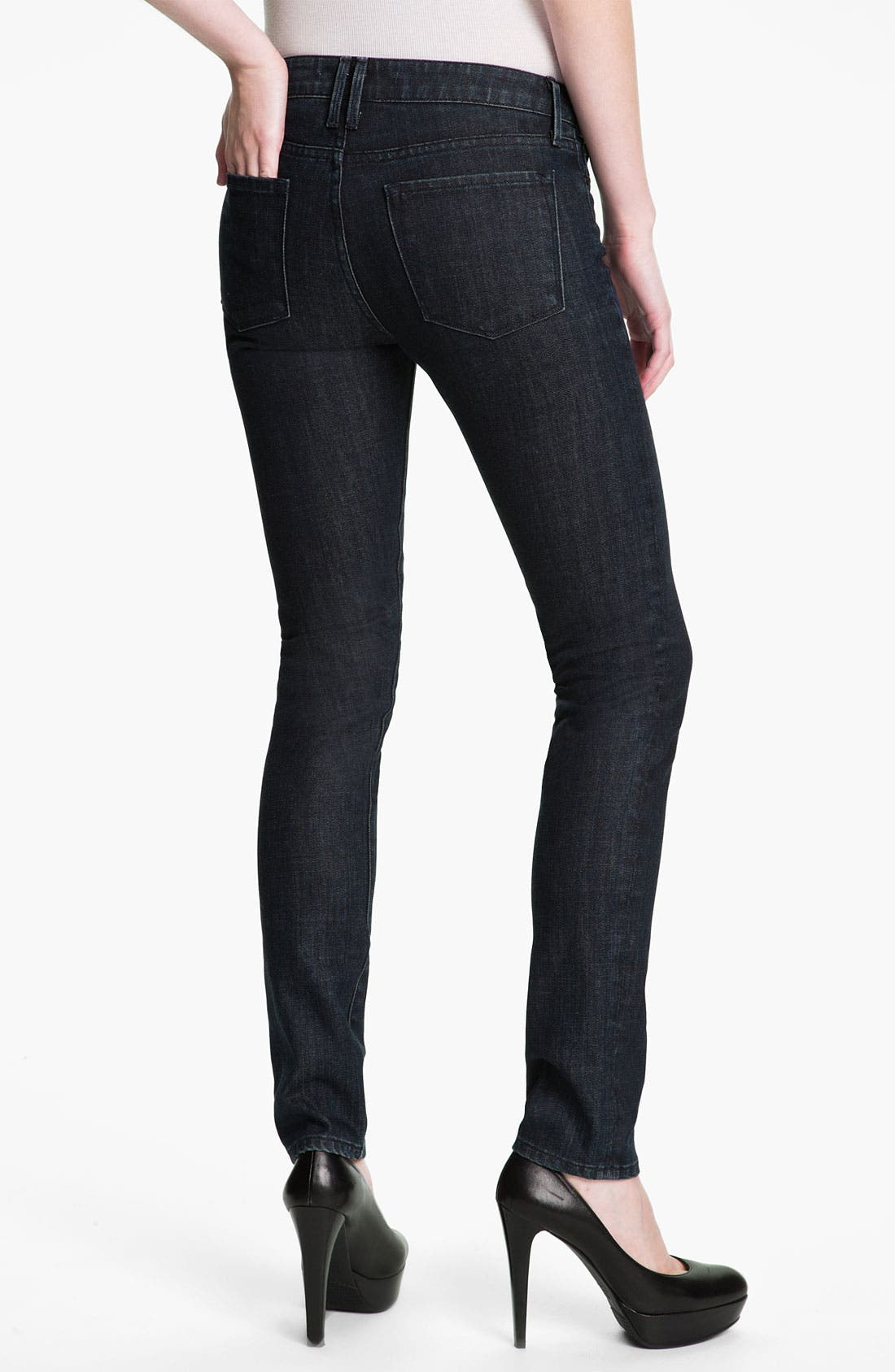 Alternate Image 2  - Vince Stretch Skinny Jeans (Dark Vintage)