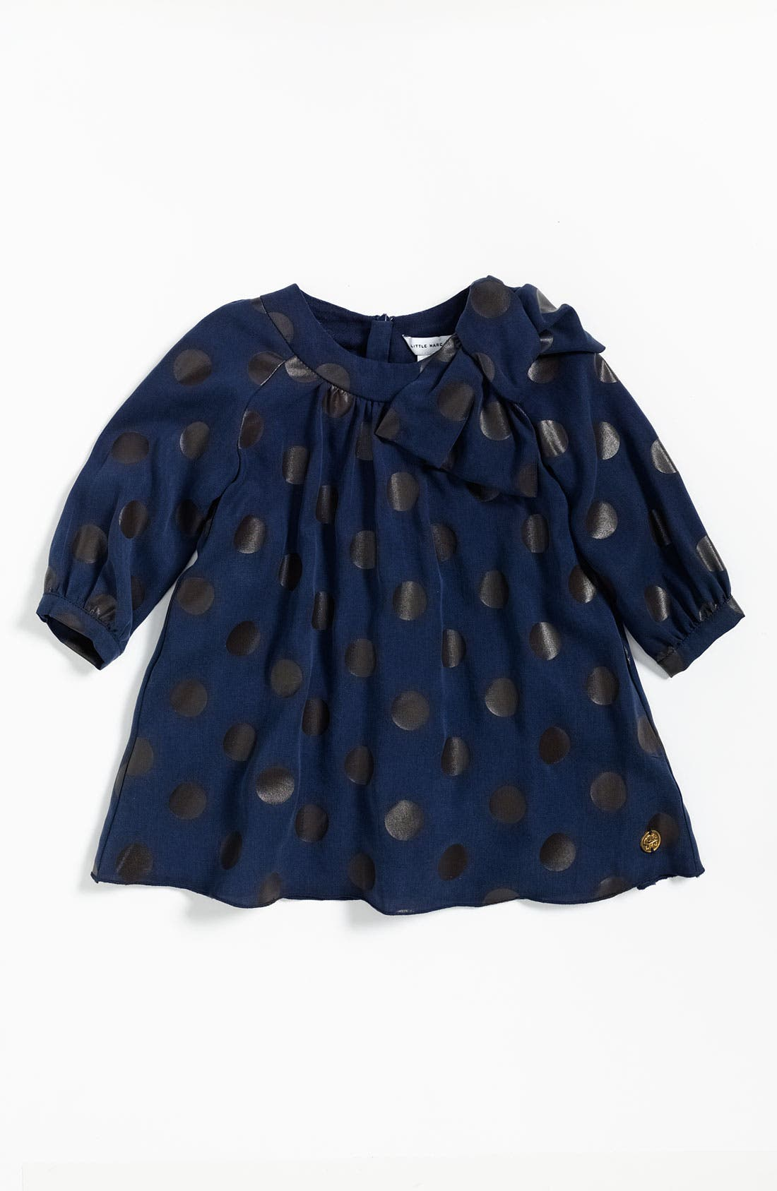Main Image - LITTLE MARC JACOBS Dotted Dress (Toddler)